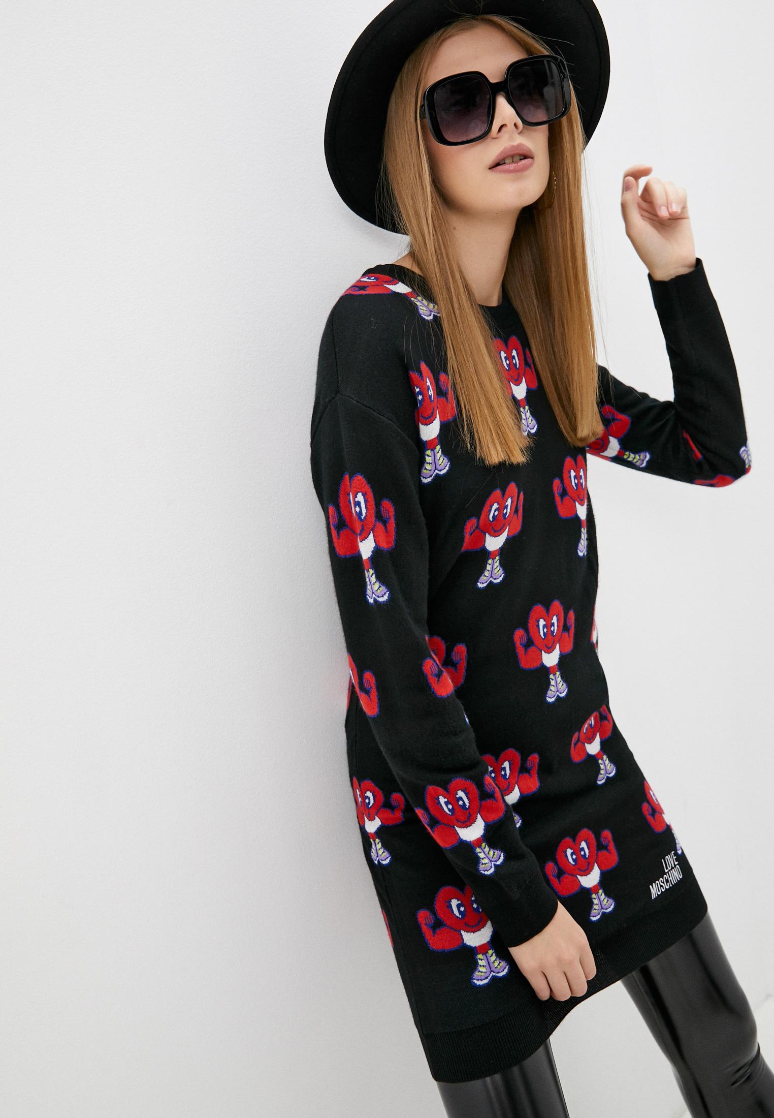 Вязаное платье Love Moschino W S 19R 11 X 1306