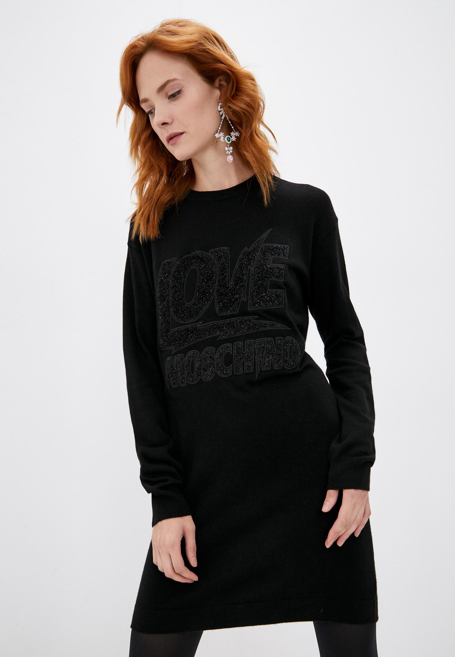 Вязаное платье Love Moschino W S 22R 11 X 0683