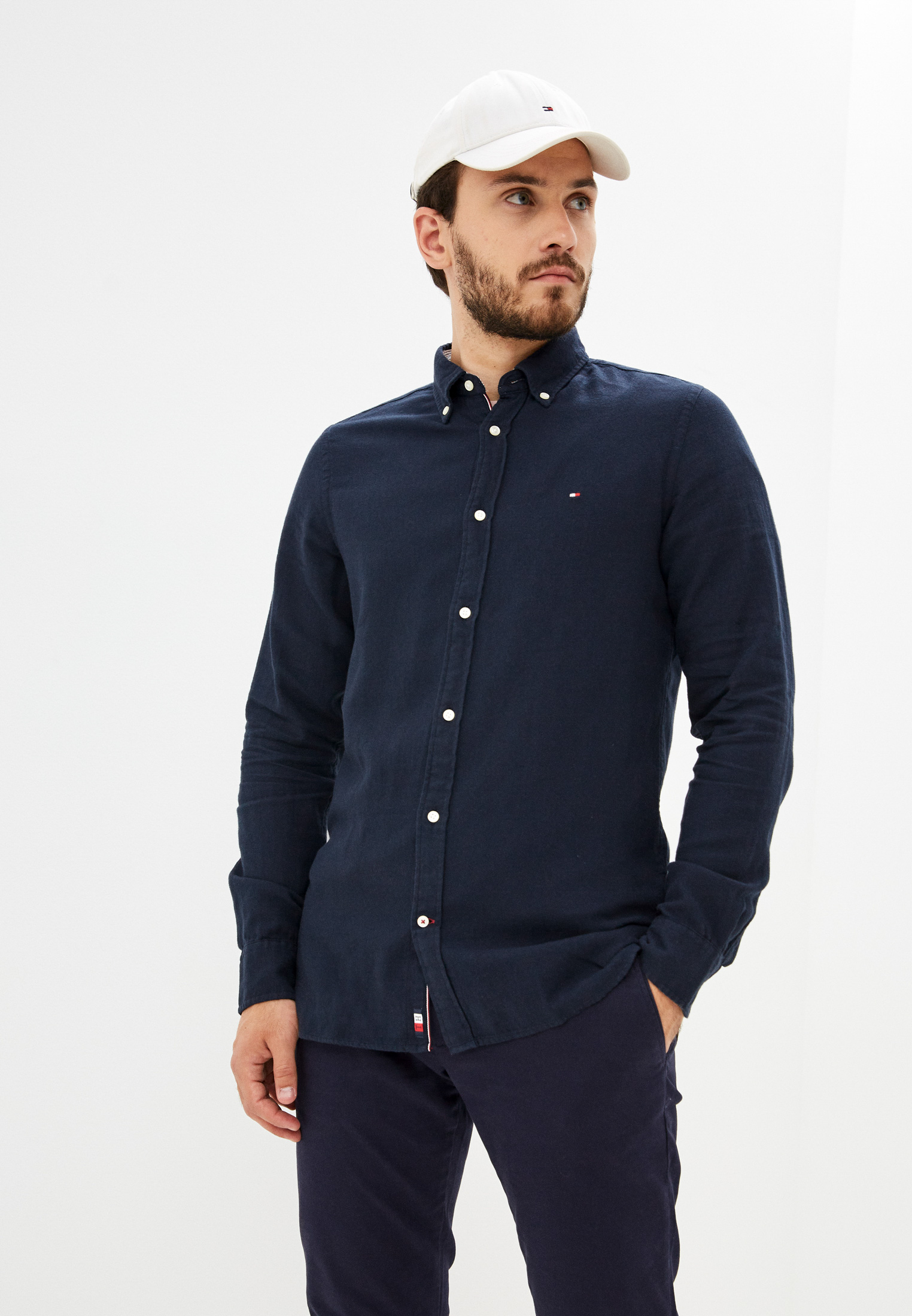 Рубашка с длинным рукавом Tommy Hilfiger (Томми Хилфигер) MW0MW21100