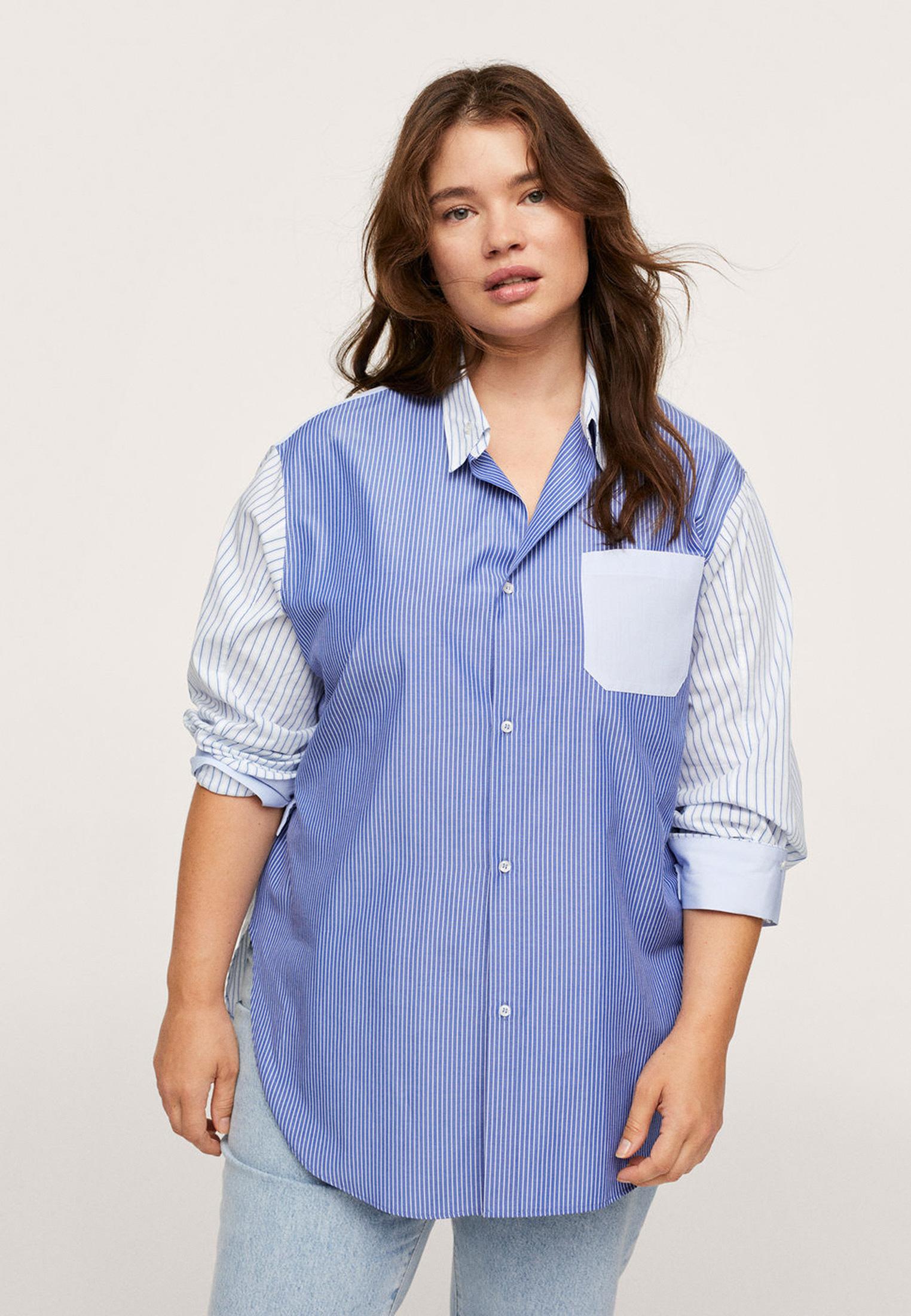 Рубашка Violeta by Mango (Виолетта бай Манго) Рубашка Violeta by Mango