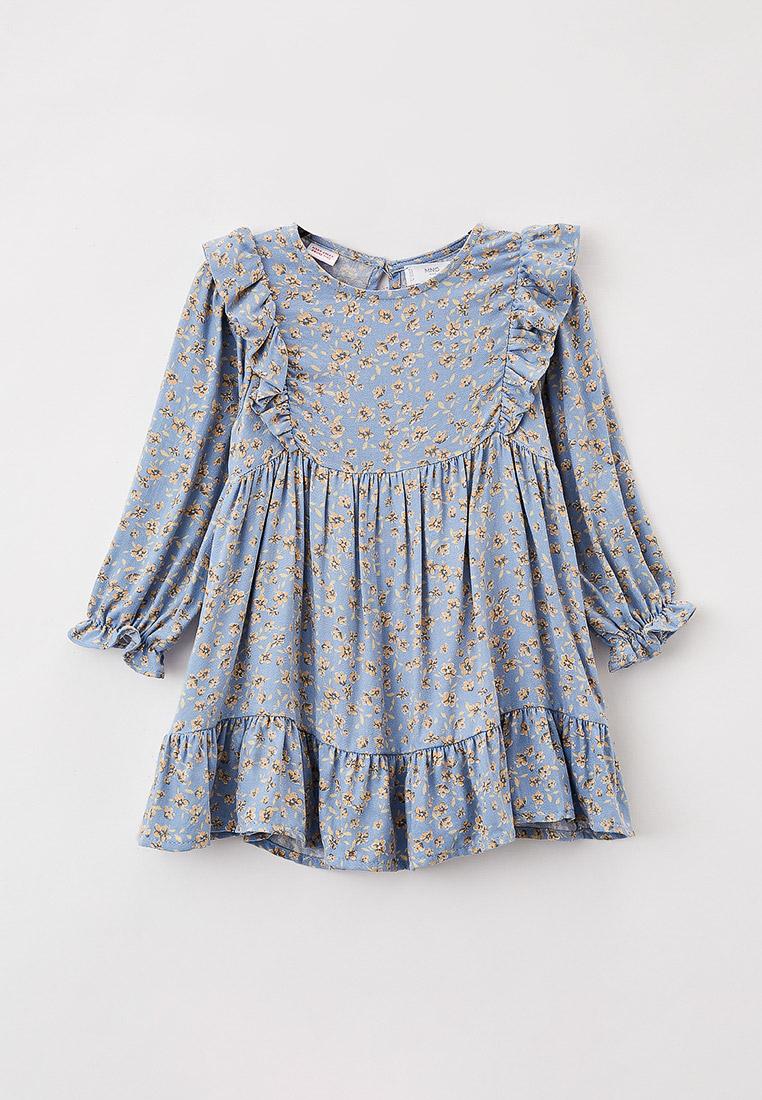 Повседневное платье Mango Kids (Манго Кидс) 17006306