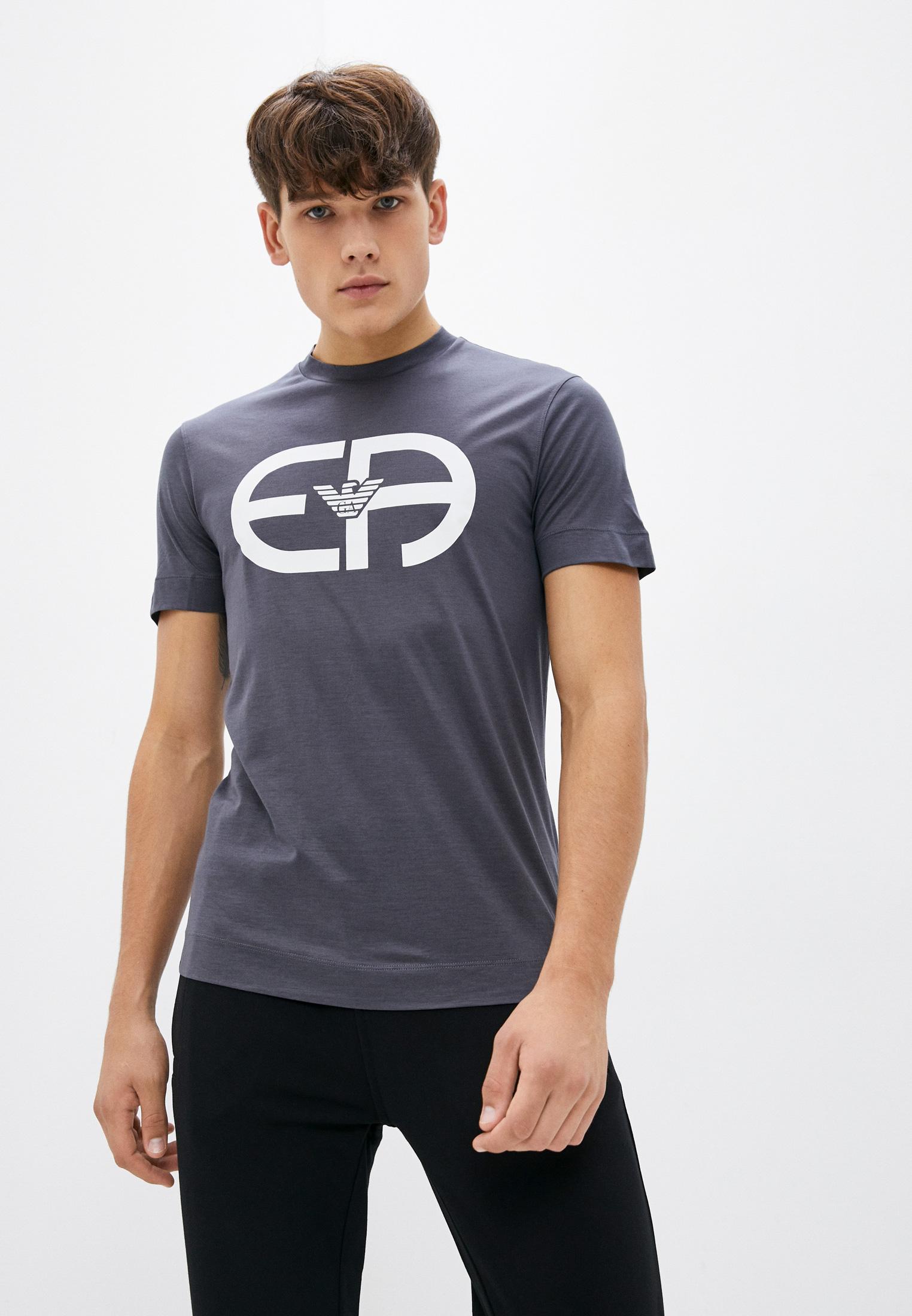 Мужская футболка Emporio Armani (Эмпорио Армани) 6K1T74 1JUVZ