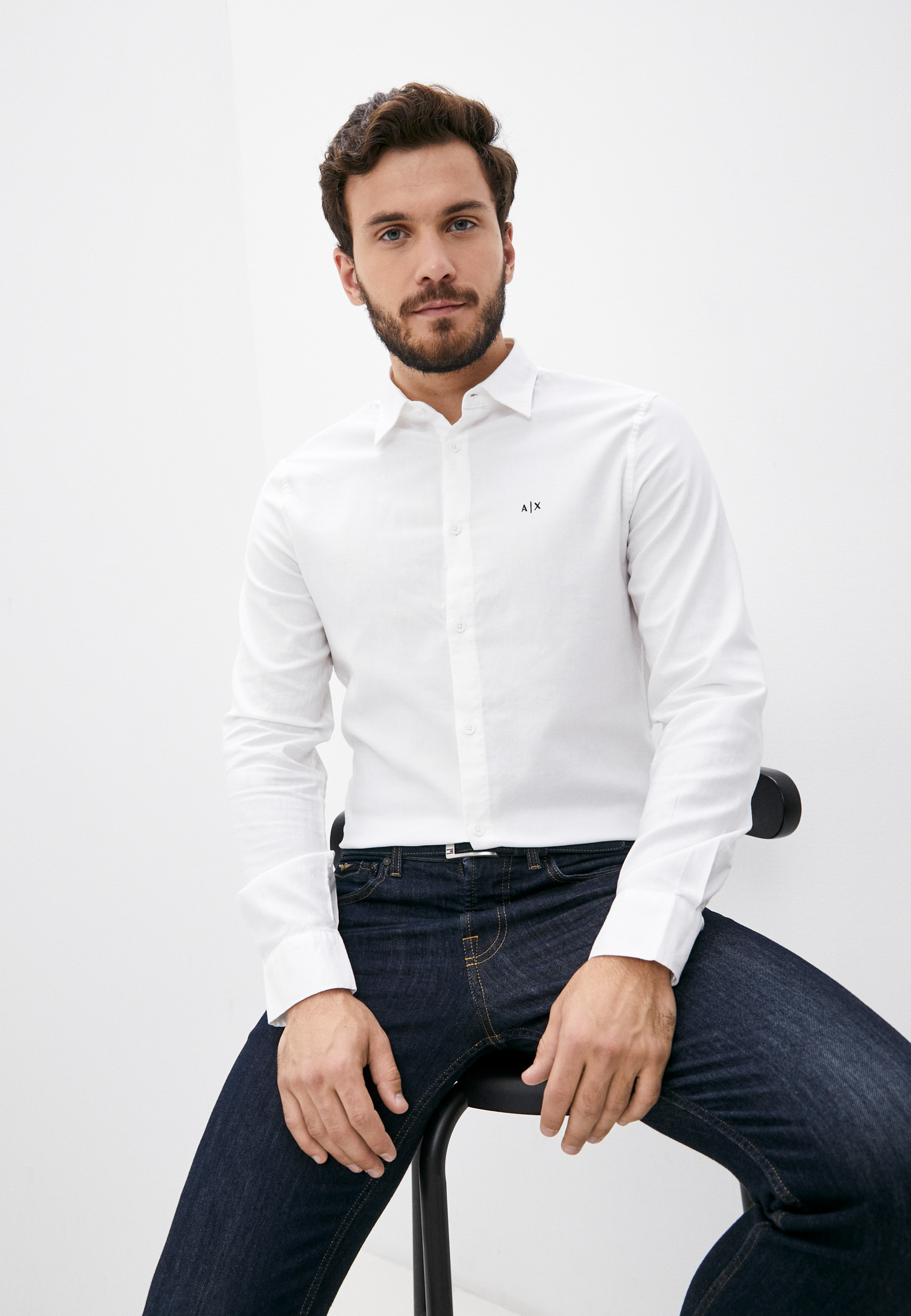 Рубашка с длинным рукавом Armani Exchange 6KZC08 ZNKEZ