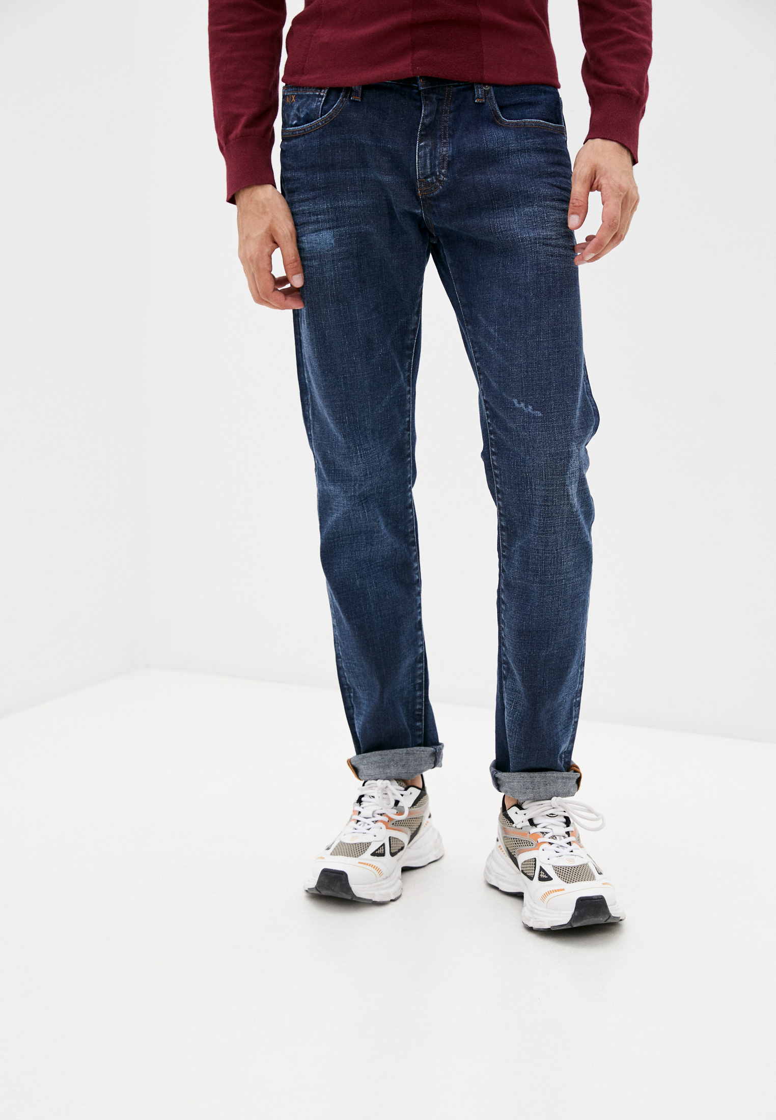Зауженные джинсы Armani Exchange 6KZJ13 Z1P2Z