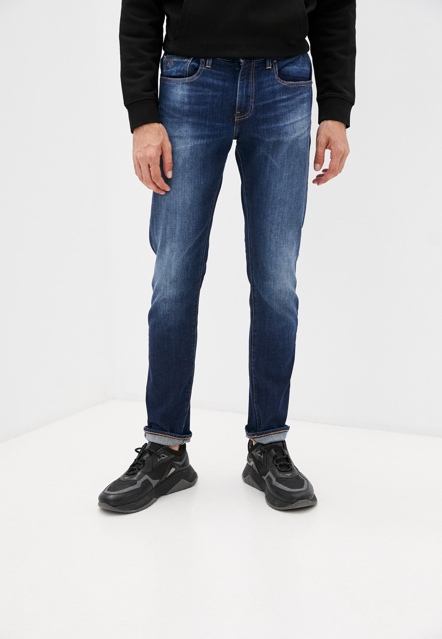 Зауженные джинсы Armani Exchange Джинсы Armani Exchange