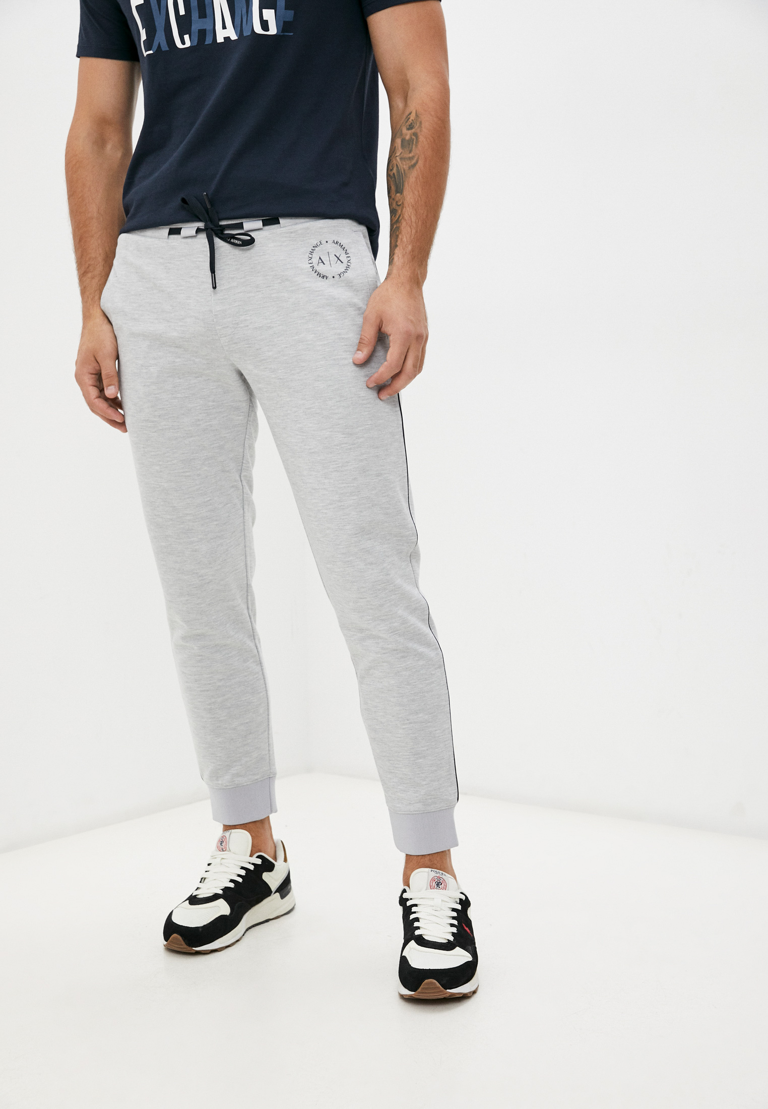 Мужские спортивные брюки Armani Exchange Брюки спортивные Armani Exchange