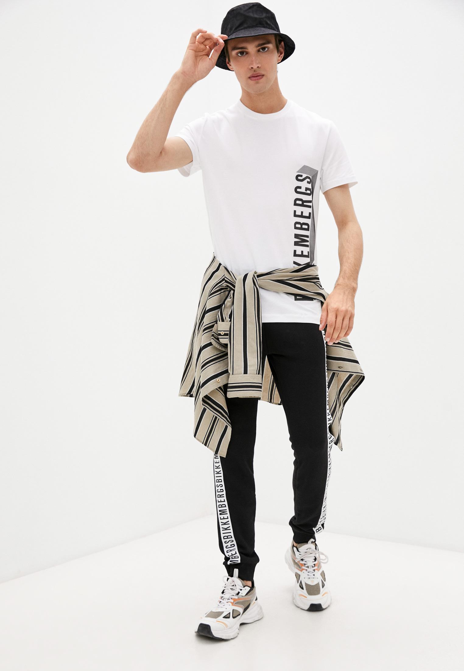 Мужская футболка Bikkembergs (Биккембергс) C 4 101 47 E 2296: изображение 3
