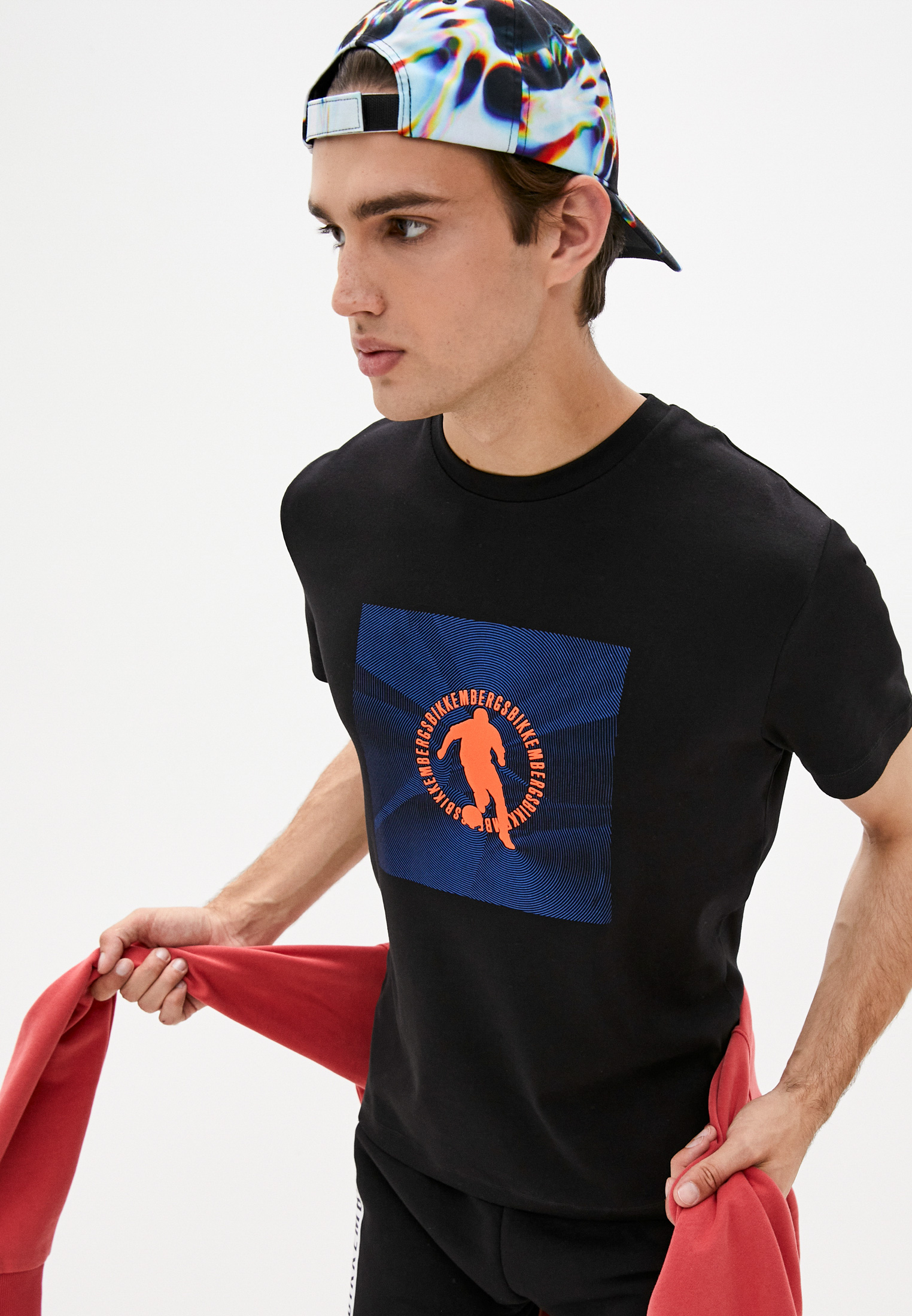 Мужская футболка Bikkembergs (Биккембергс) C 4 101 58 E 2298