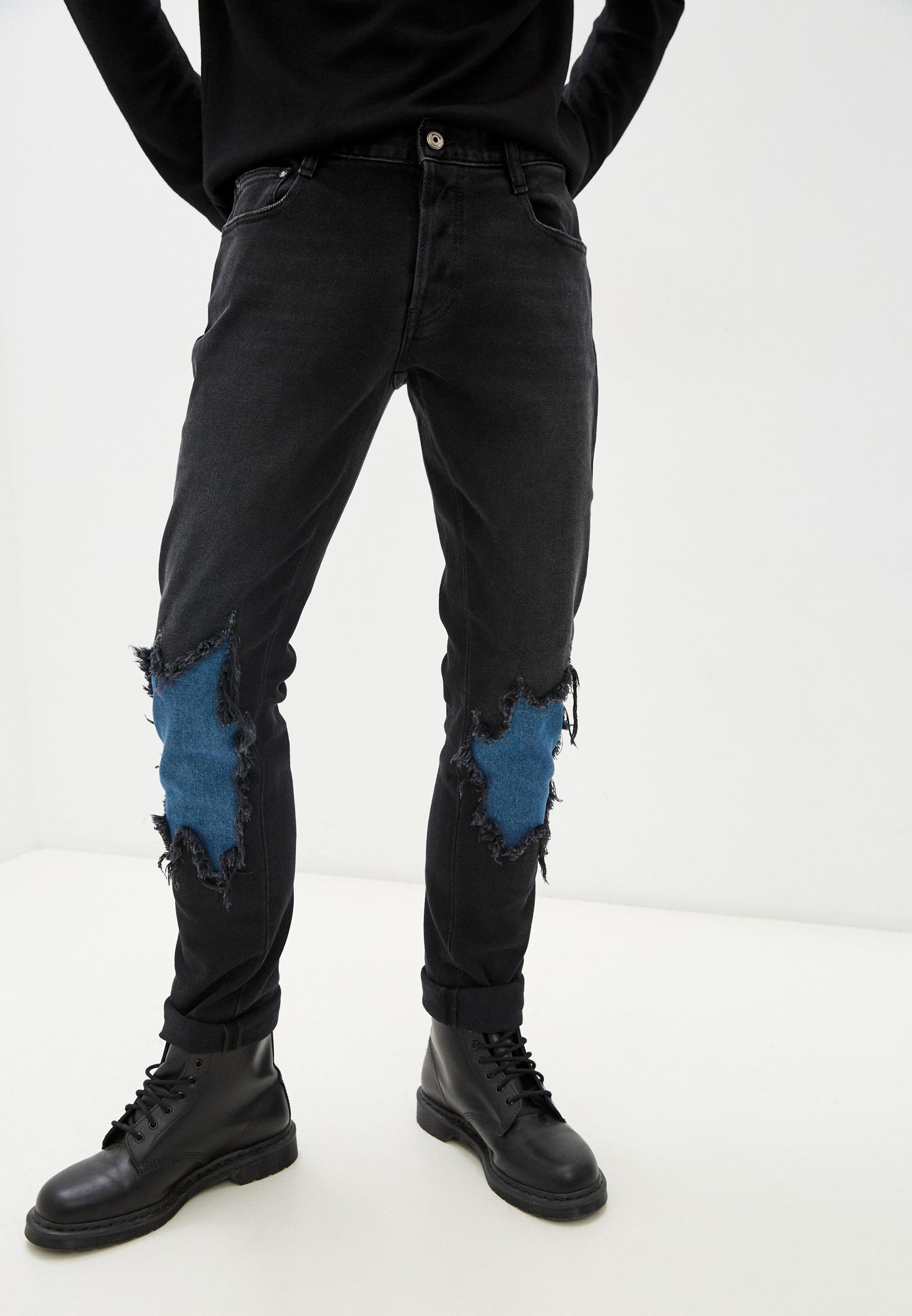 Мужские зауженные джинсы Just Cavalli (Джаст Кавалли) S03LA0132N31956