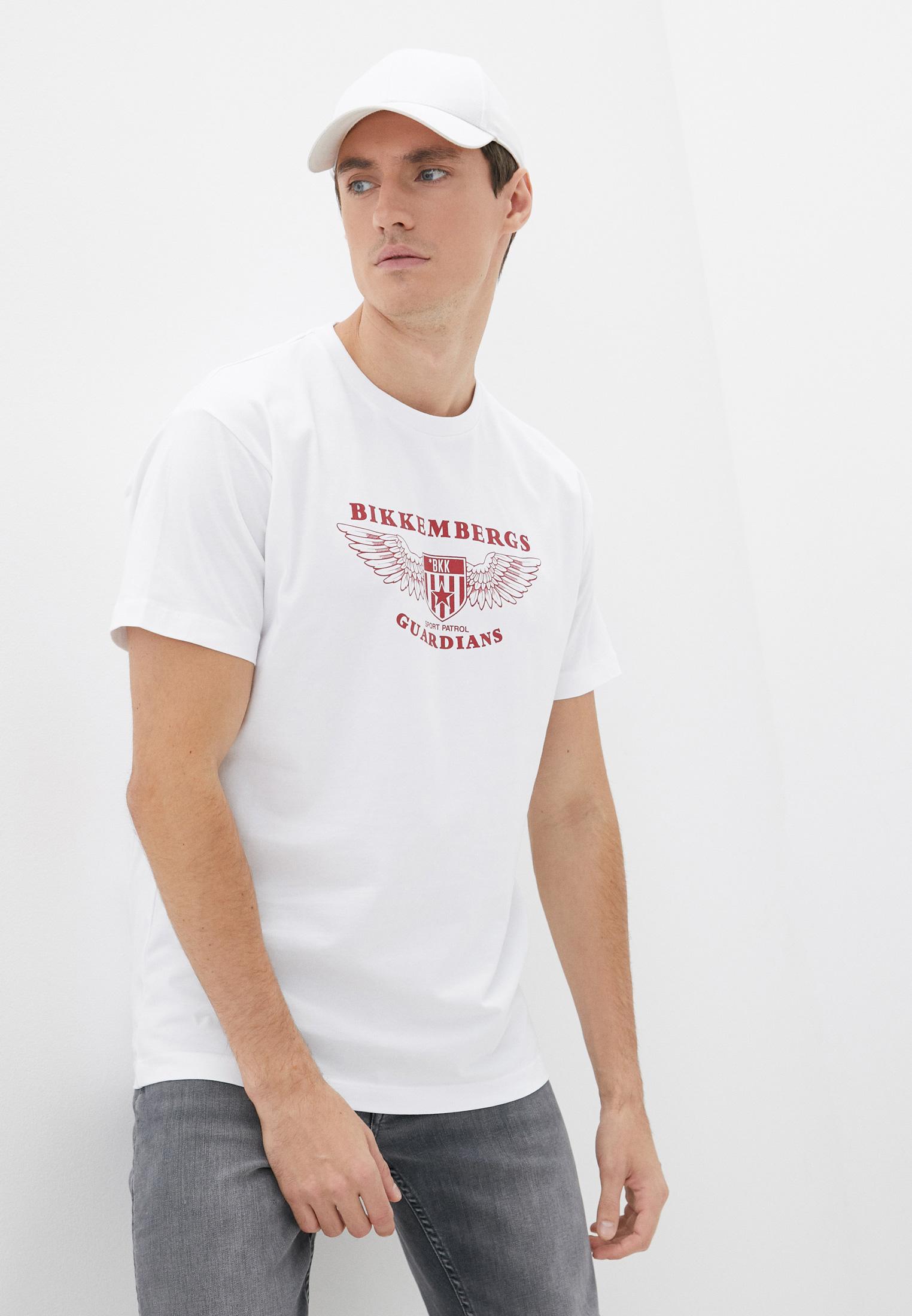 Мужская футболка Bikkembergs (Биккембергс) C 7 022 8T E 1951
