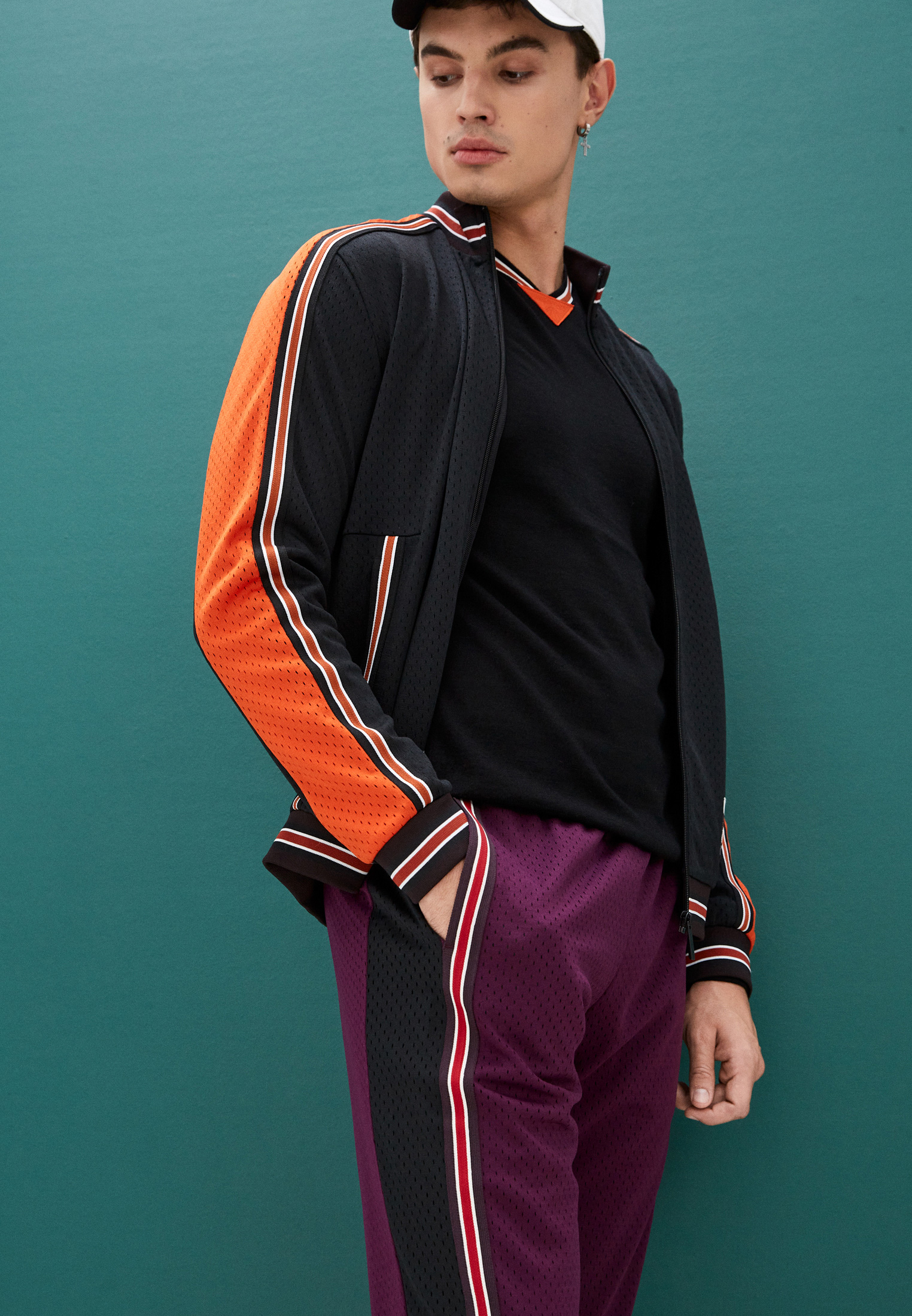 Мужские спортивные брюки Bikkembergs (Биккембергс) C 1 157 00 M 4224: изображение 2