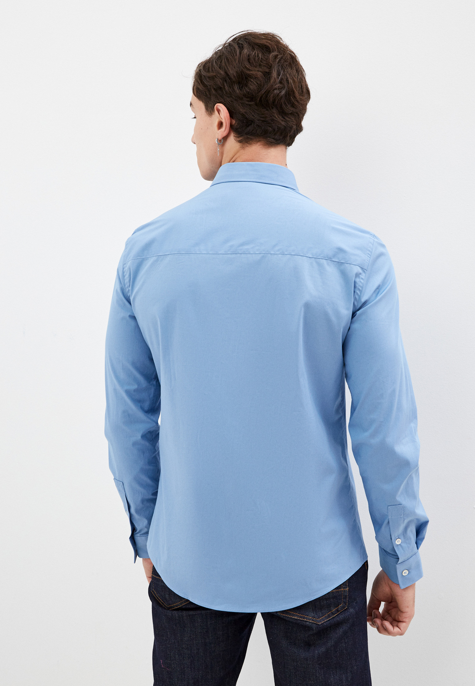 Рубашка с длинным рукавом Bikkembergs (Биккембергс) C C 072 00 S 2931: изображение 4