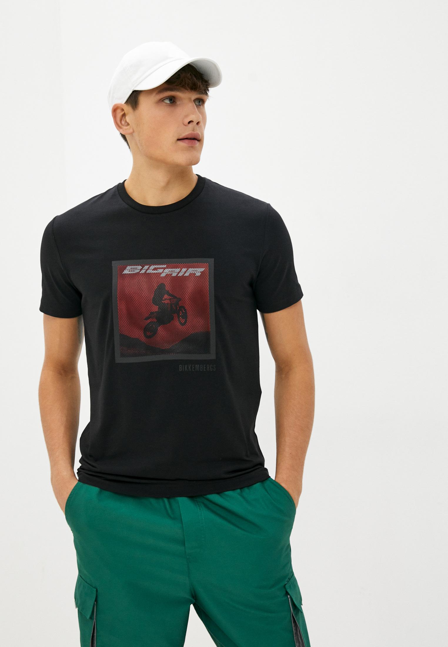 Мужская футболка Bikkembergs (Биккембергс) C 7 001 2F E 1951