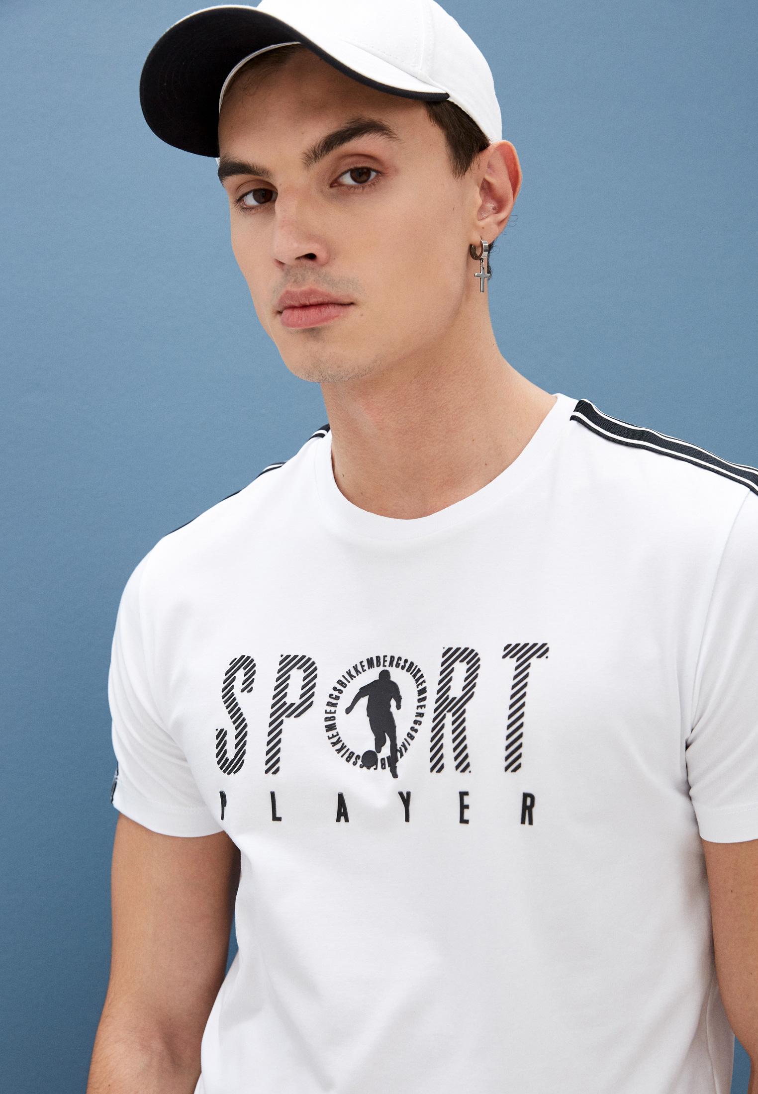 Мужская футболка Bikkembergs (Биккембергс) C 7 001 4A E 1814: изображение 2