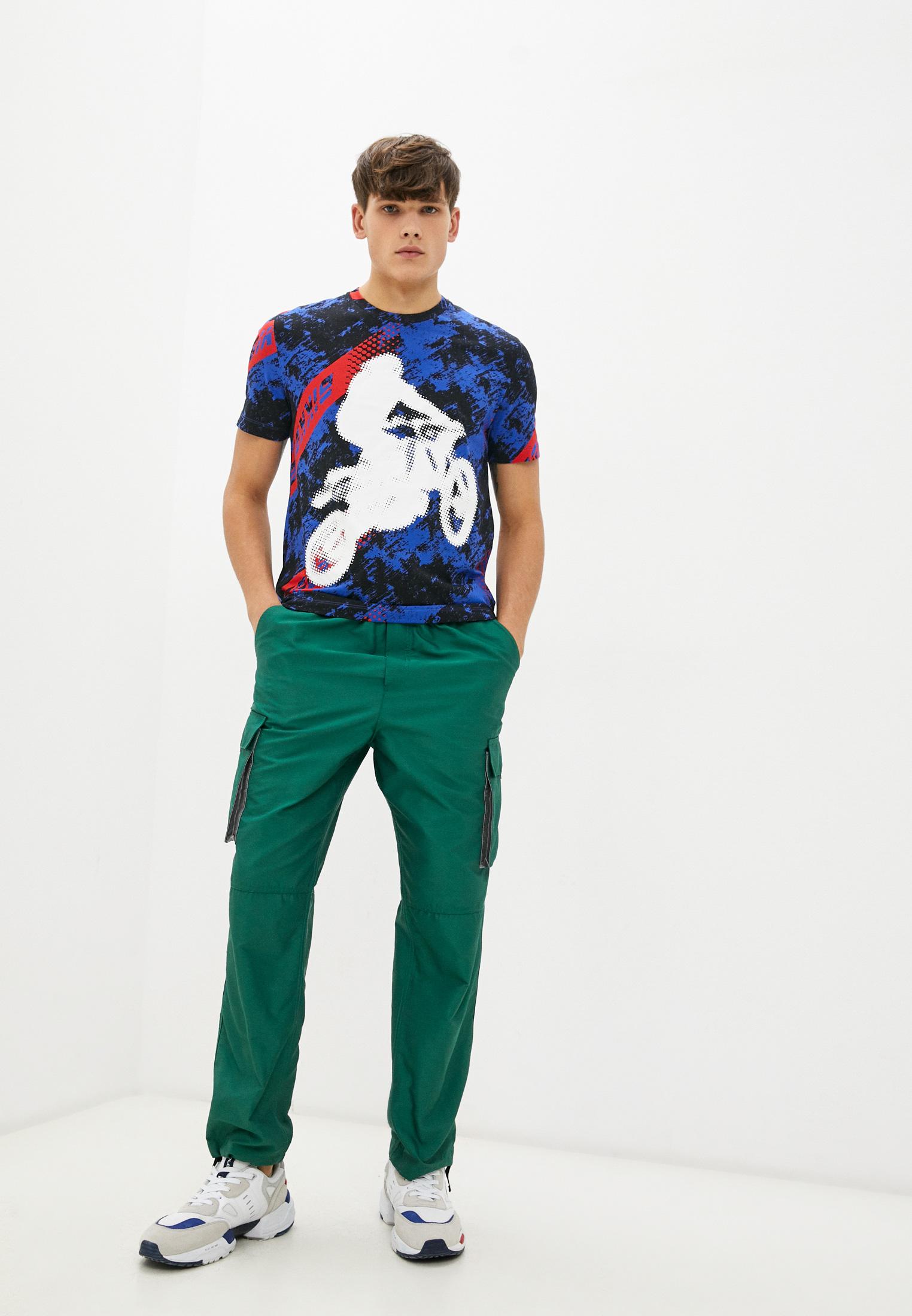 Мужская футболка Bikkembergs (Биккембергс) C 7 001 7F E 2097: изображение 3