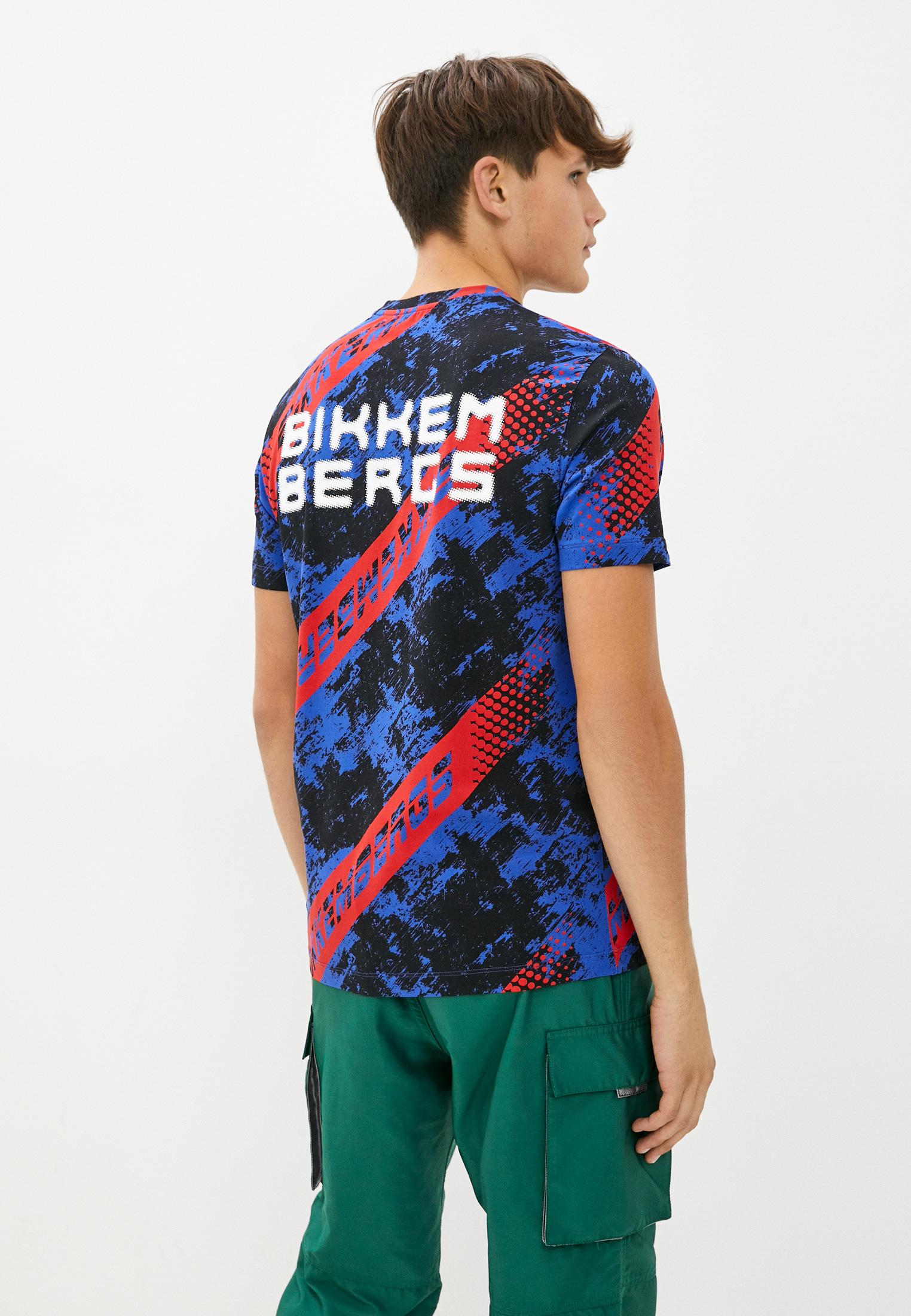 Мужская футболка Bikkembergs (Биккембергс) C 7 001 7F E 2097: изображение 4
