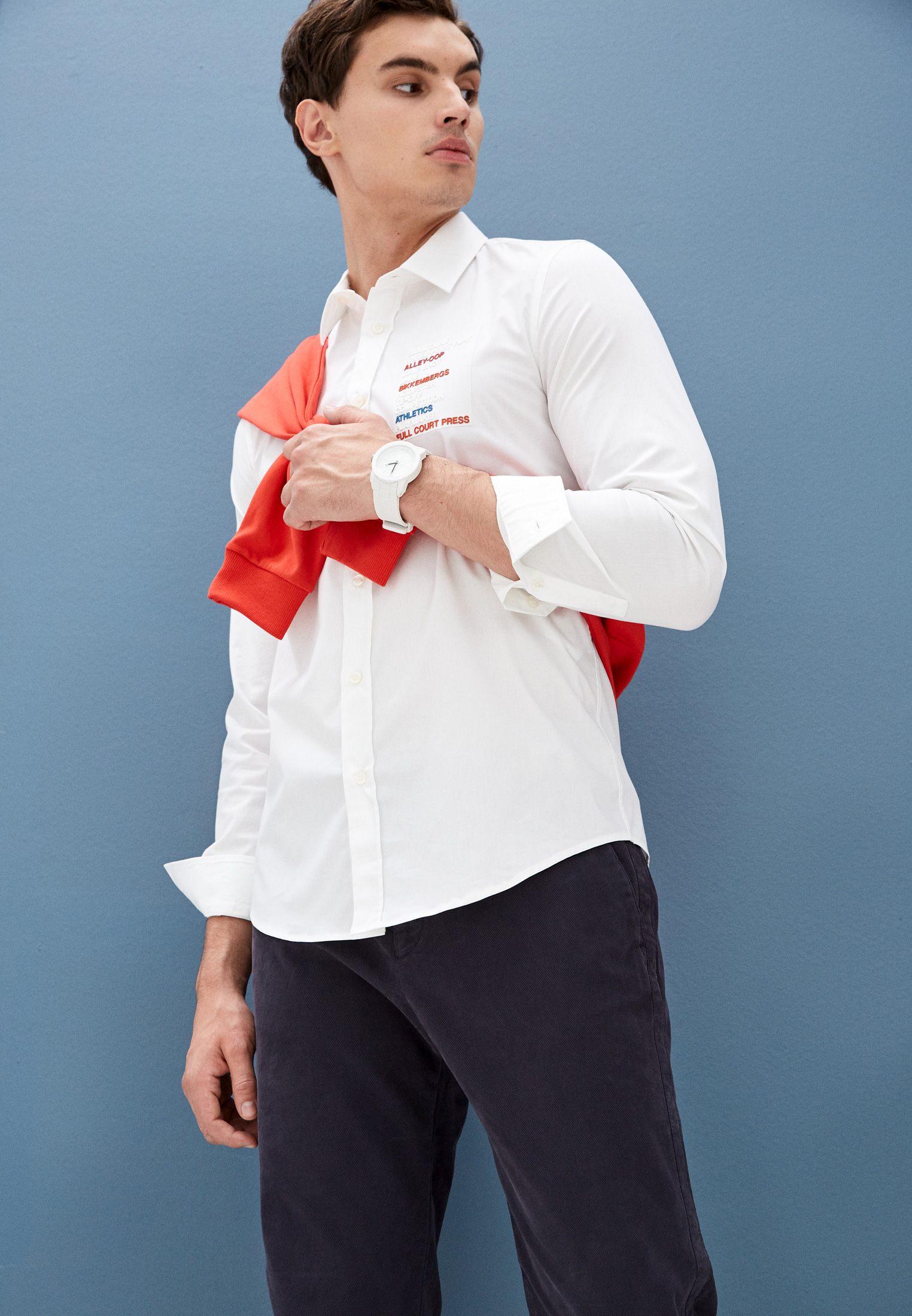 Мужские повседневные брюки Bikkembergs C P 001 04 S 3472: изображение 7