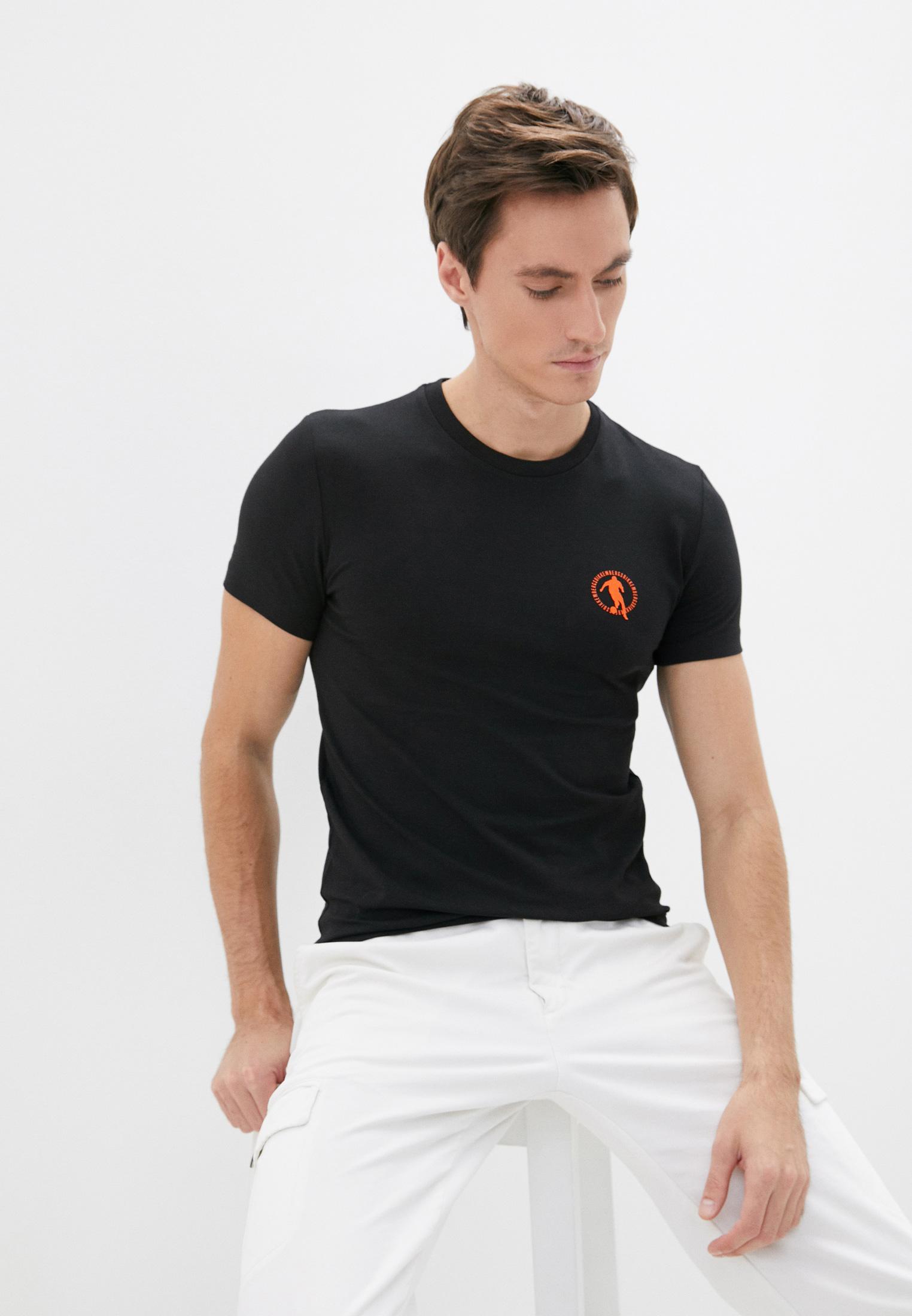 Мужская футболка Bikkembergs (Биккембергс) C 7 016 4T E 1823