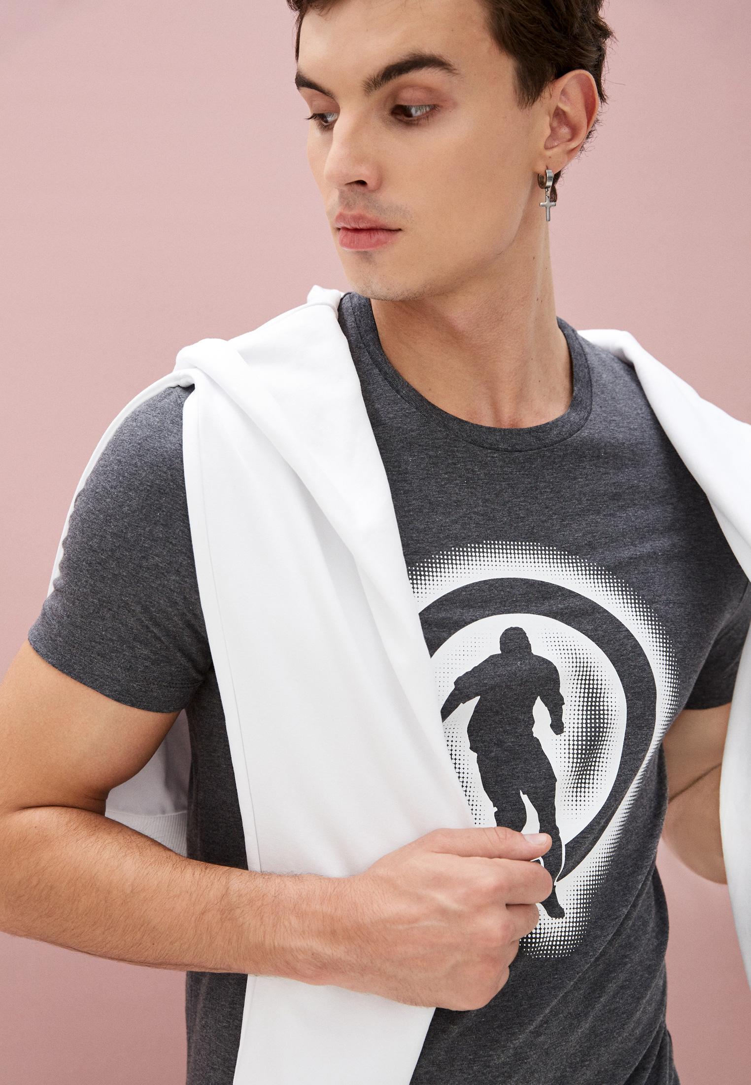 Мужская футболка Bikkembergs (Биккембергс) C 7 021 1T E 1814: изображение 2