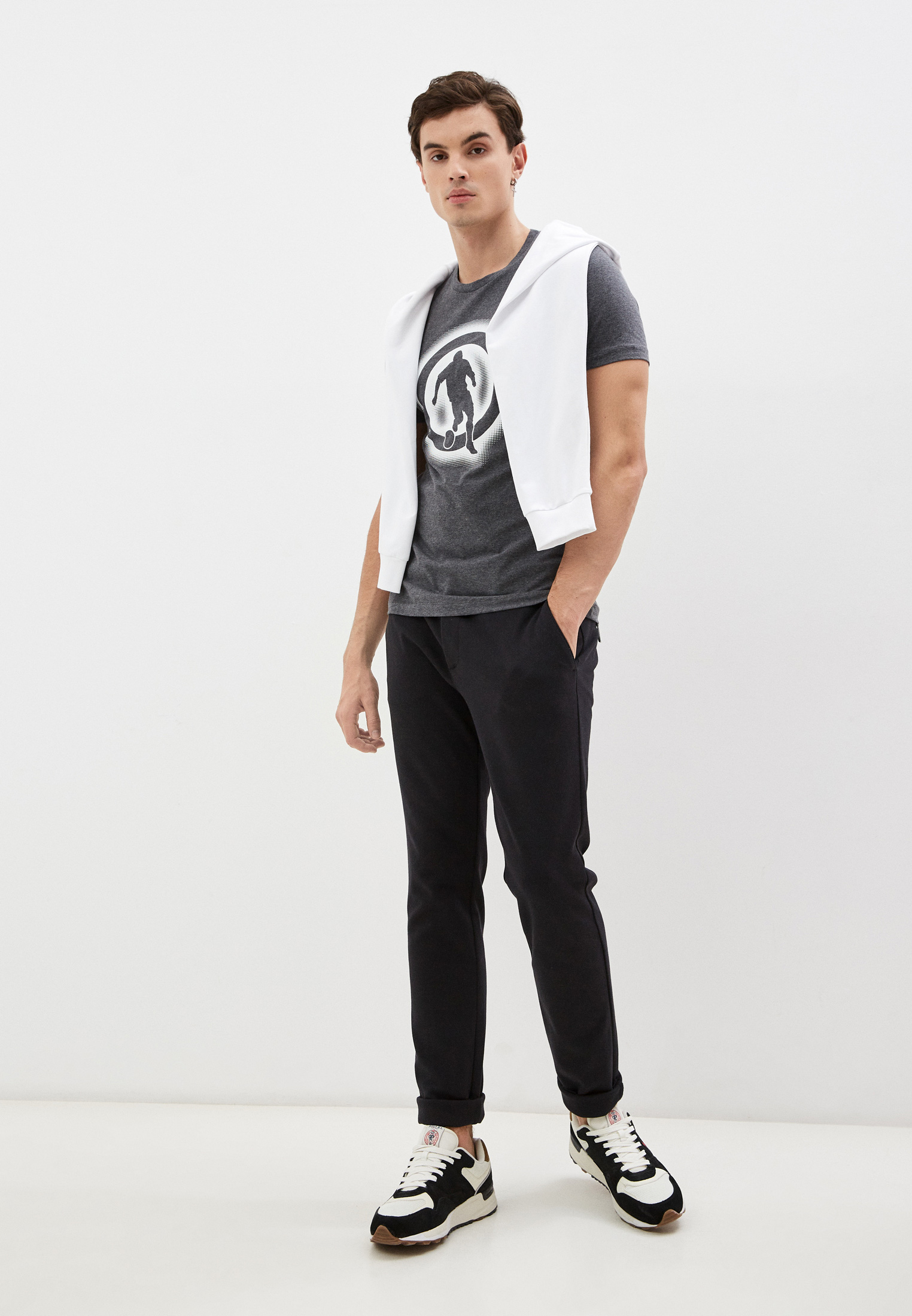 Мужская футболка Bikkembergs (Биккембергс) C 7 021 1T E 1814: изображение 3