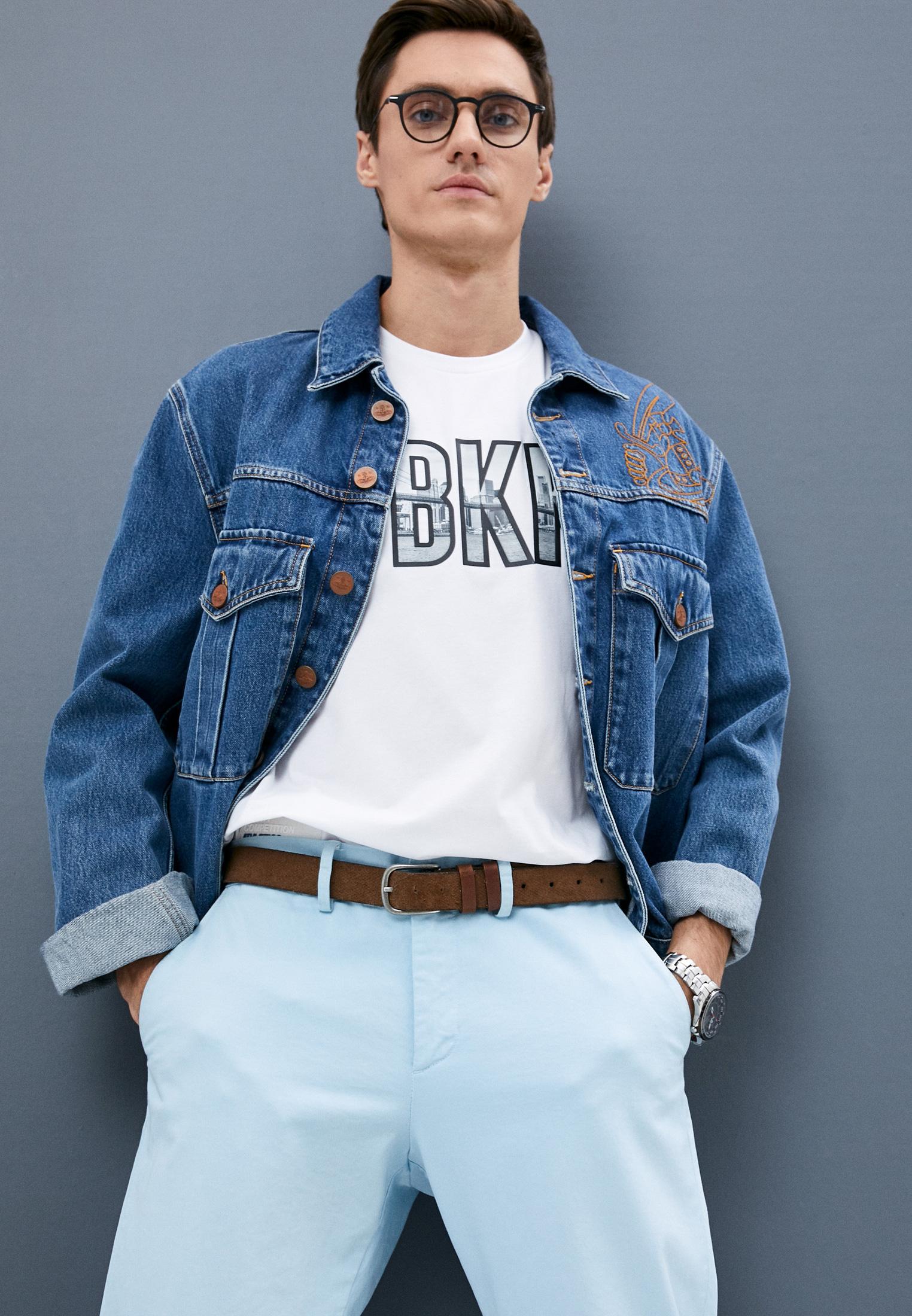 Мужская футболка Bikkembergs (Биккембергс) C 7 021 8R E 1951: изображение 2