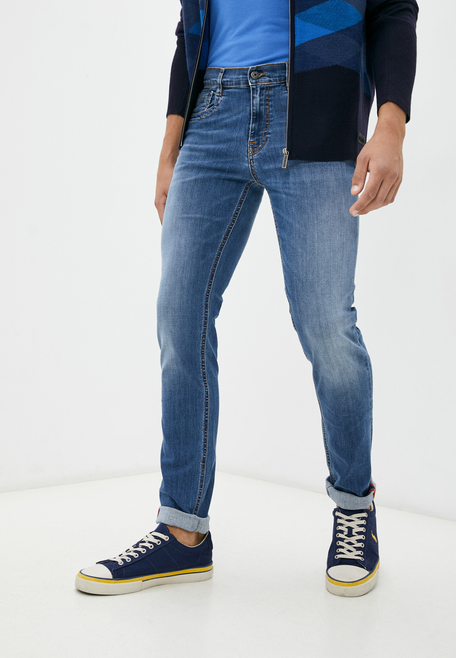 Мужские зауженные джинсы Bikkembergs (Биккембергс) C Q 101 05 S 3337: изображение 1