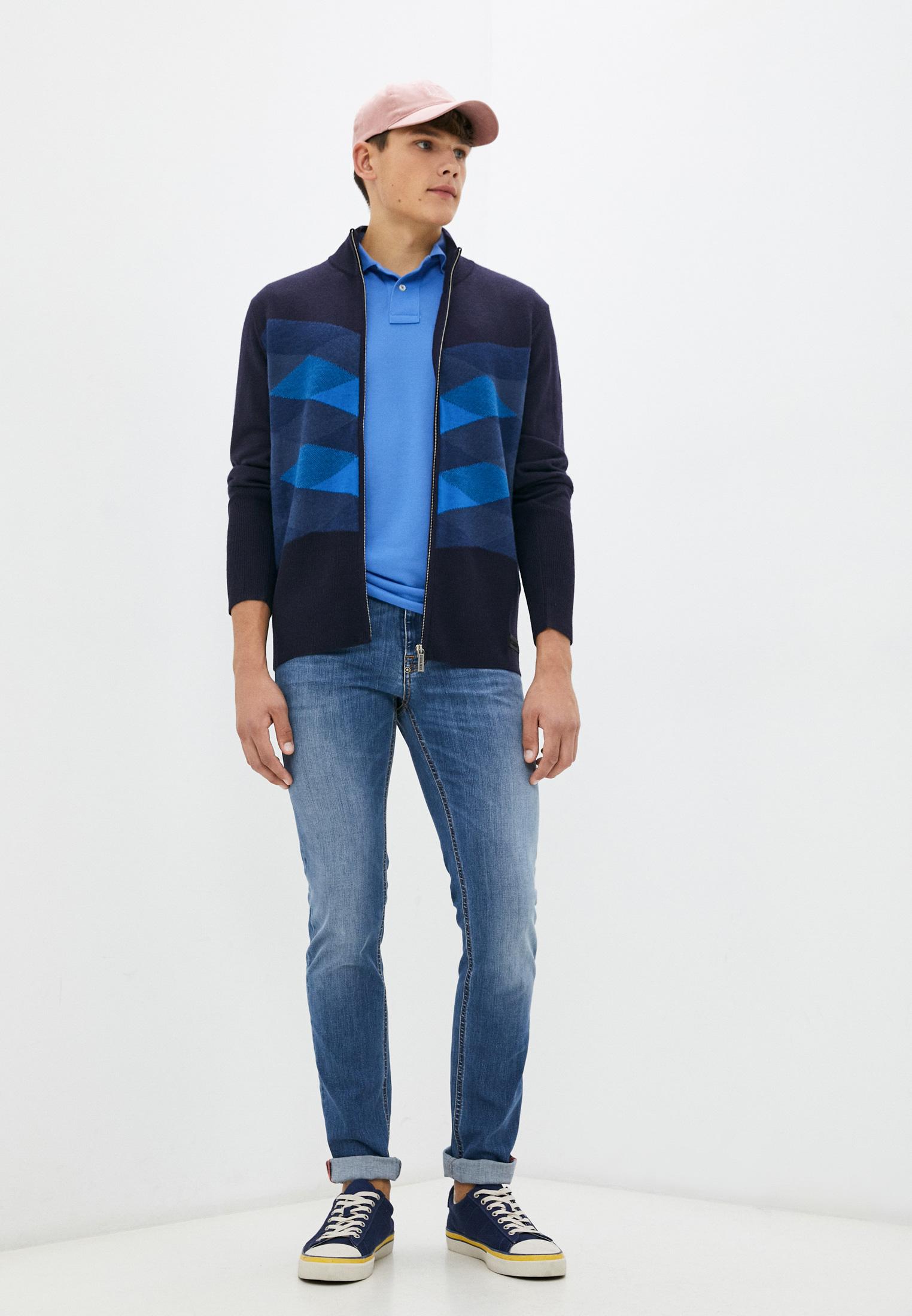 Мужские зауженные джинсы Bikkembergs (Биккембергс) C Q 101 05 S 3337: изображение 3