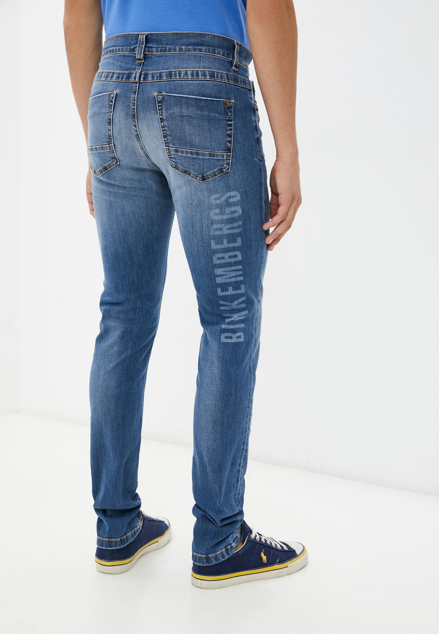 Мужские зауженные джинсы Bikkembergs (Биккембергс) C Q 101 05 S 3337: изображение 4