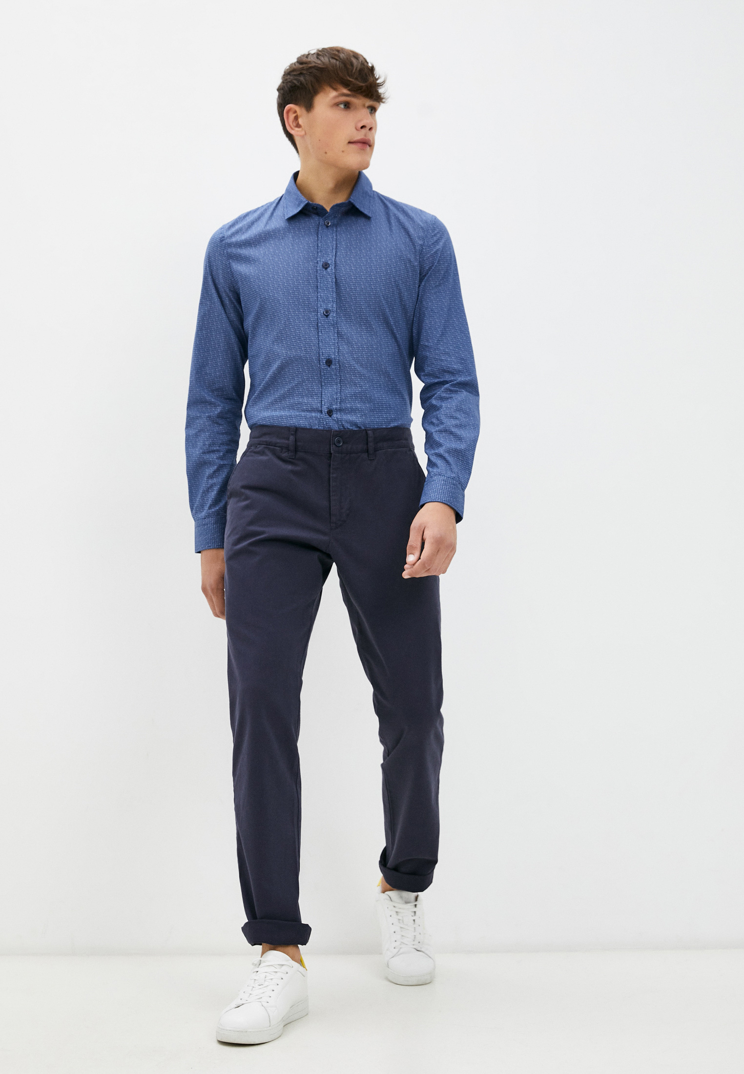 Рубашка с длинным рукавом Bikkembergs (Биккембергс) C C 009 00 S 3353: изображение 3