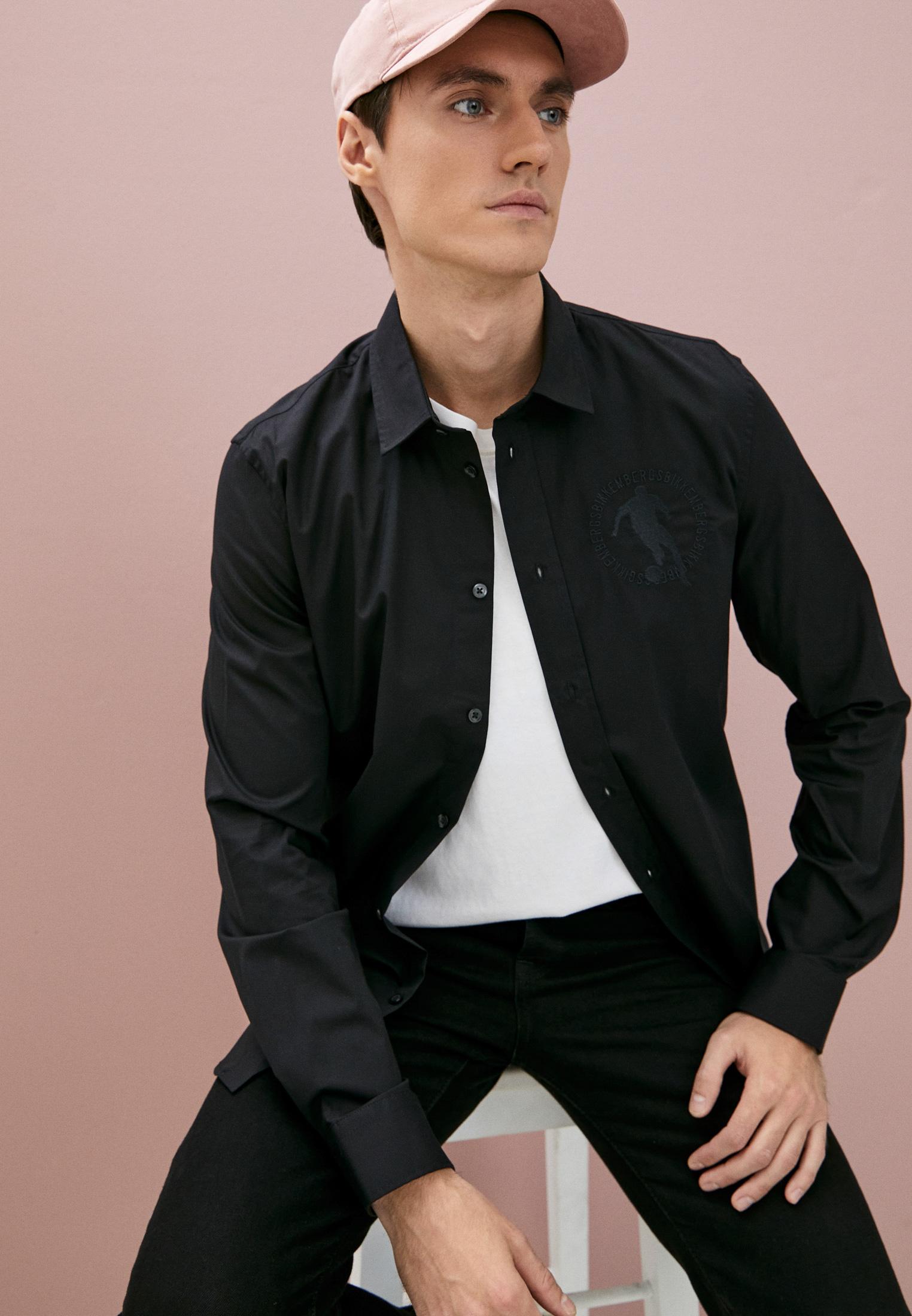 Рубашка с длинным рукавом Bikkembergs (Биккембергс) C C 009 2C S 2931: изображение 2