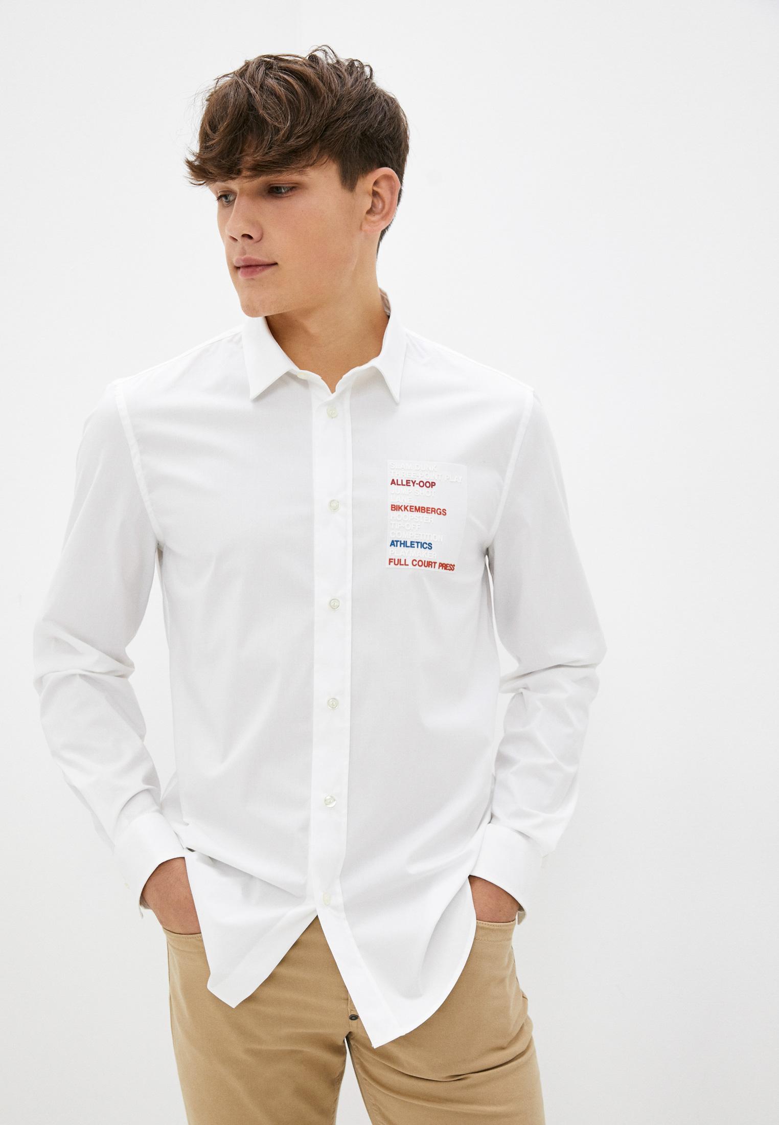 Рубашка с длинным рукавом Bikkembergs (Биккембергс) C C 009 80 S 2931