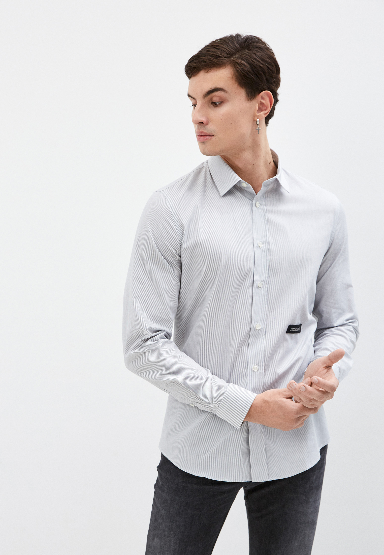 Рубашка с длинным рукавом Bikkembergs (Биккембергс) C C 009 81 T 016A