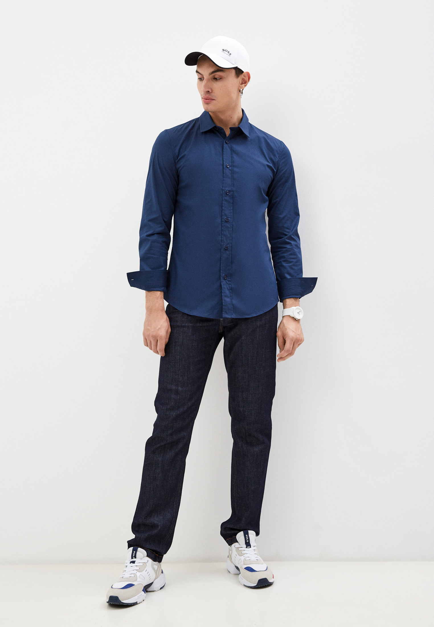 Рубашка с длинным рукавом Bikkembergs (Биккембергс) C C 055 81 S 2931: изображение 3