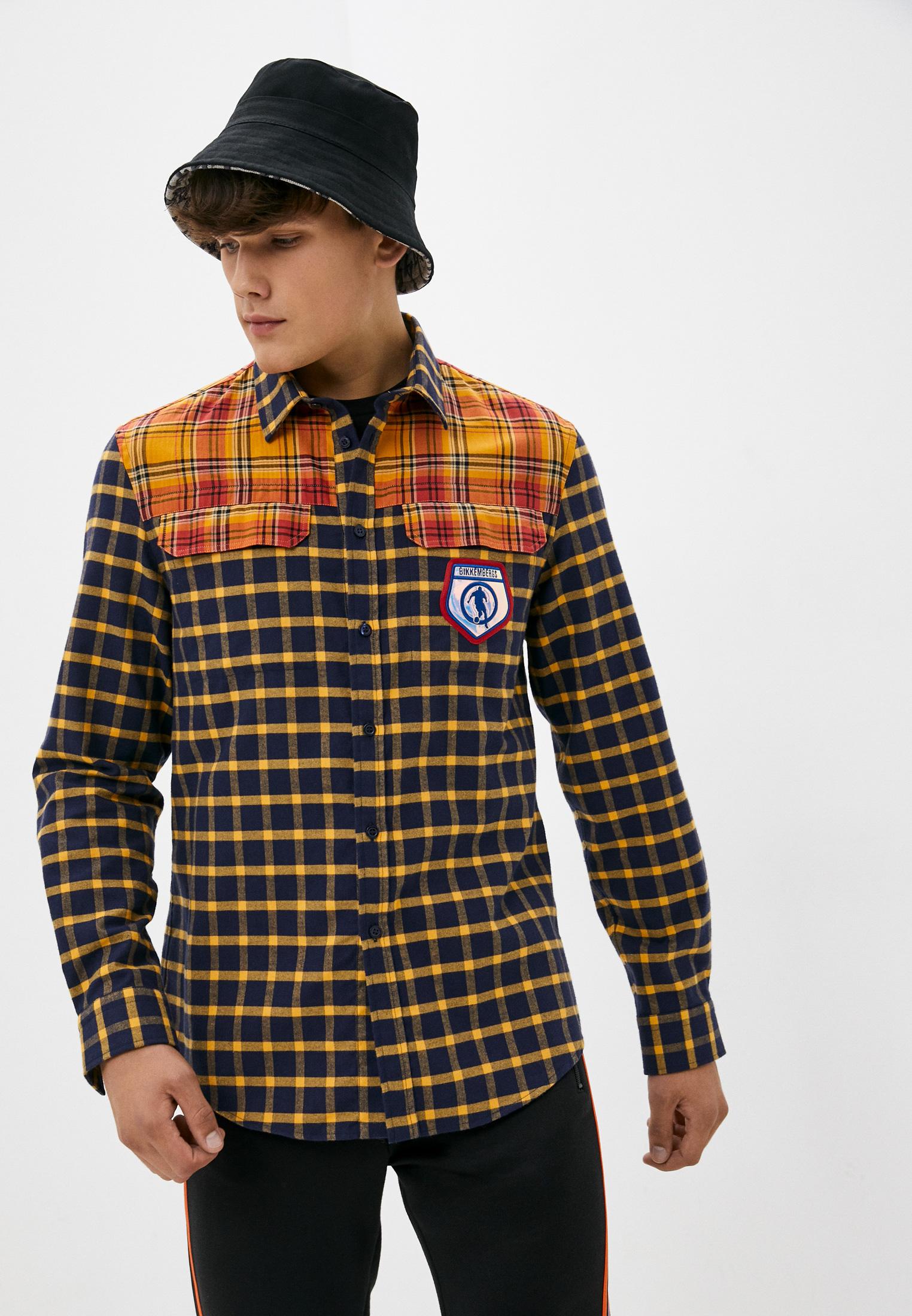 Рубашка с длинным рукавом Bikkembergs (Биккембергс) C C 061 80 T 9876