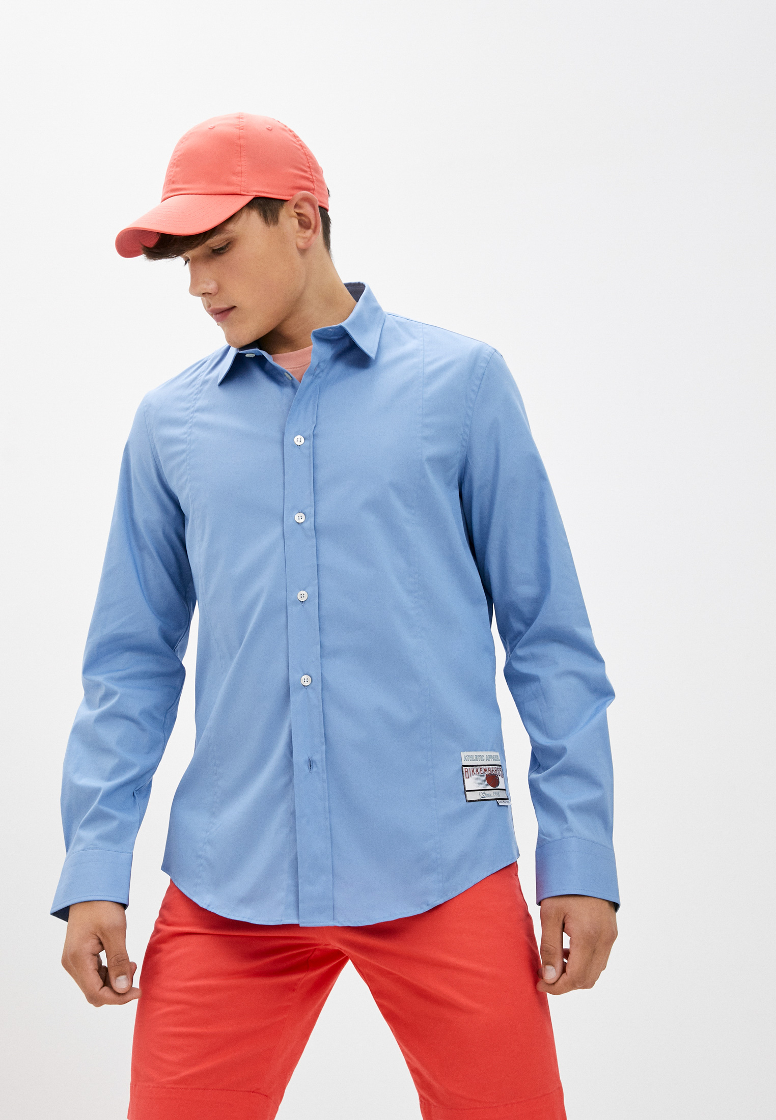 Рубашка с длинным рукавом Bikkembergs (Биккембергс) C C 073 00 S 2931: изображение 1