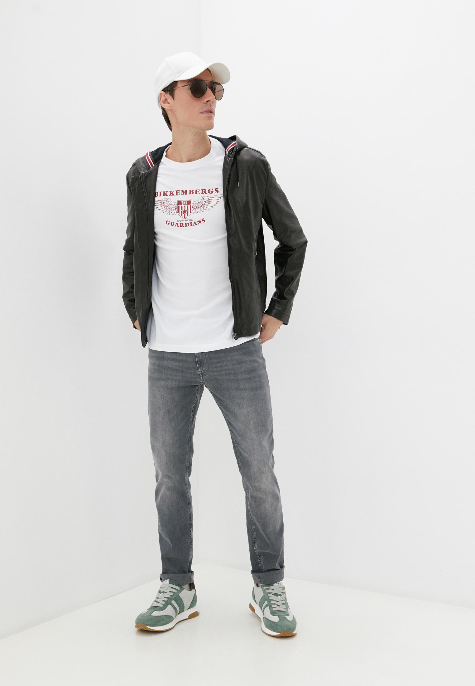 Кожаная куртка Bikkembergs (Биккембергс) C H 201 00 D 1197: изображение 3
