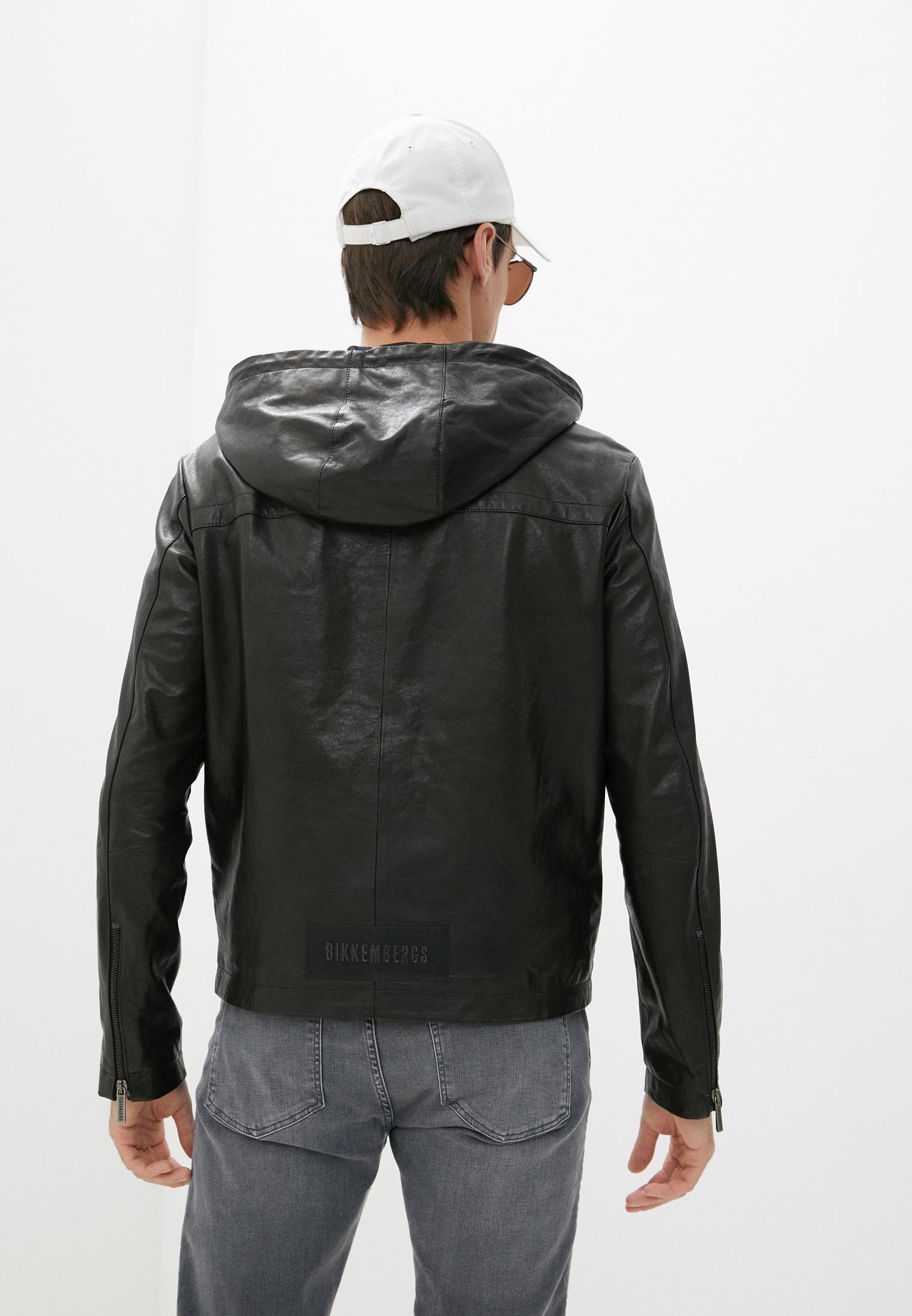 Кожаная куртка Bikkembergs (Биккембергс) C H 201 00 D 1197: изображение 4
