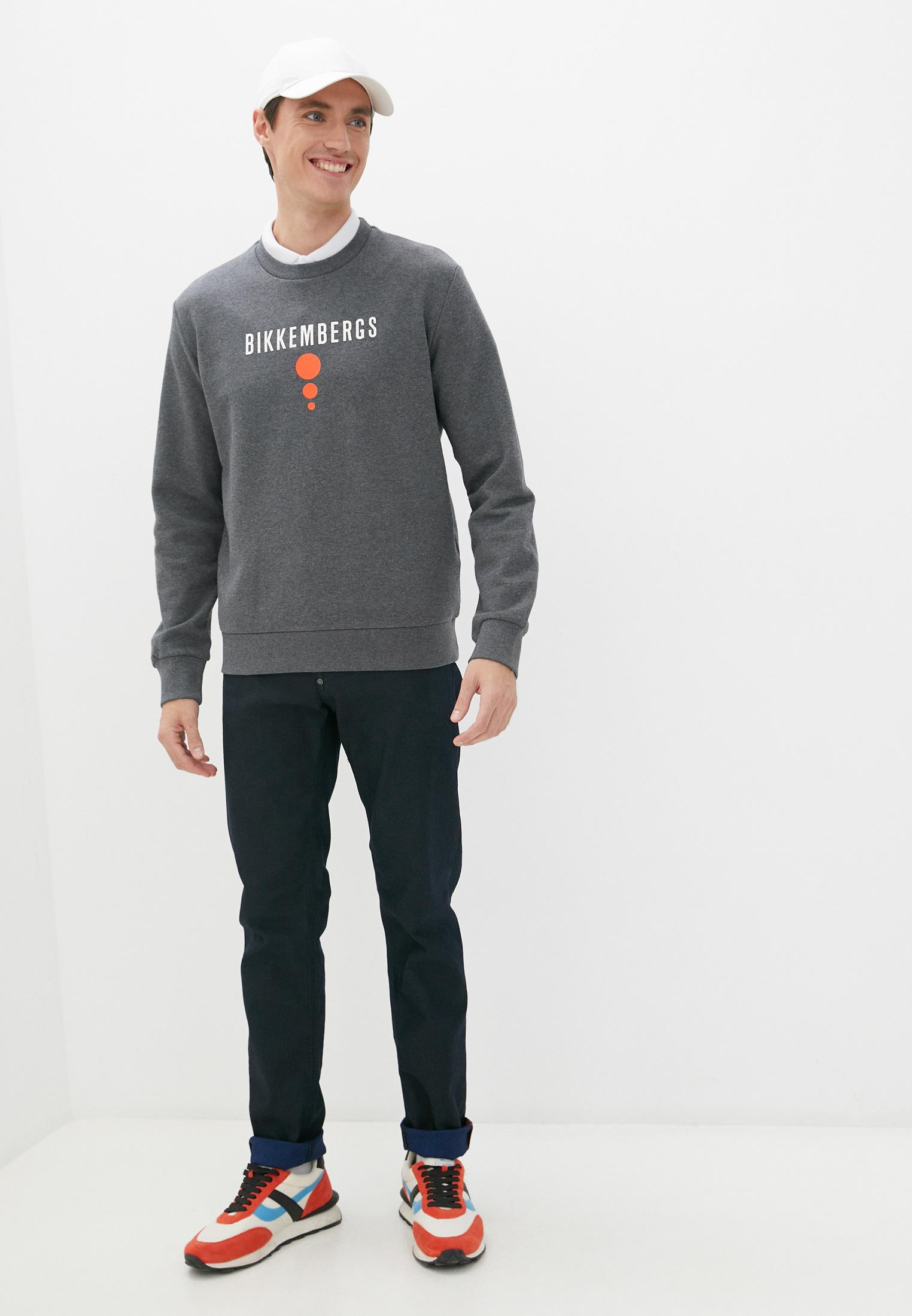 Мужские зауженные джинсы Bikkembergs (Биккембергс) C Q 101 18 S 3147: изображение 8