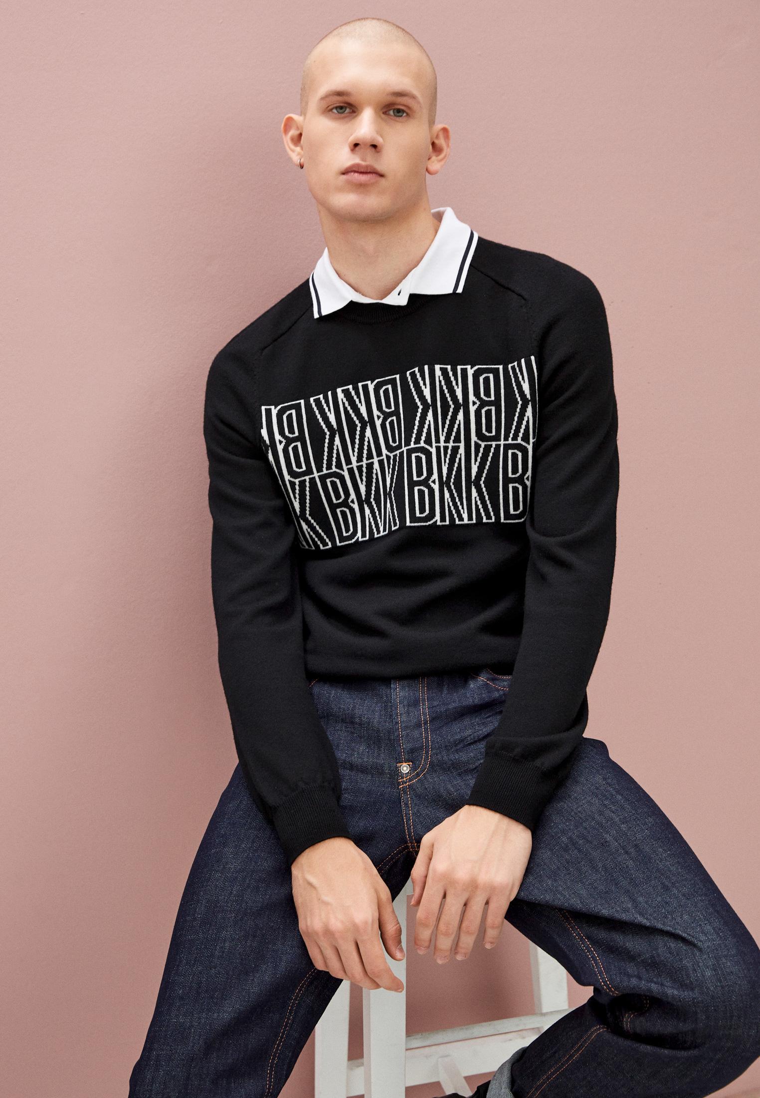 Мужские прямые джинсы Bikkembergs (Биккембергс) C Q 102 03 S 3393: изображение 12