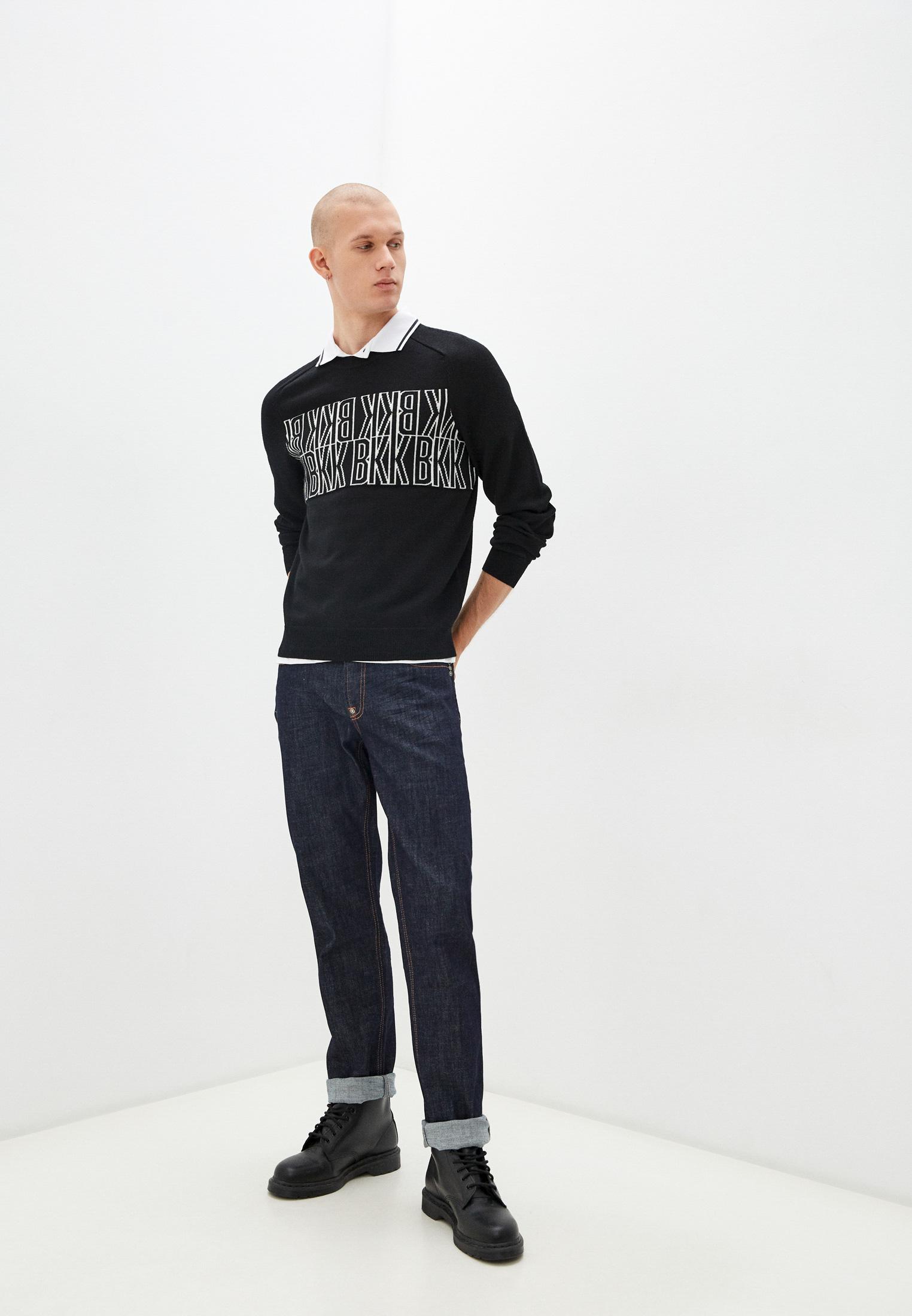 Мужские прямые джинсы Bikkembergs (Биккембергс) C Q 102 03 S 3393: изображение 13