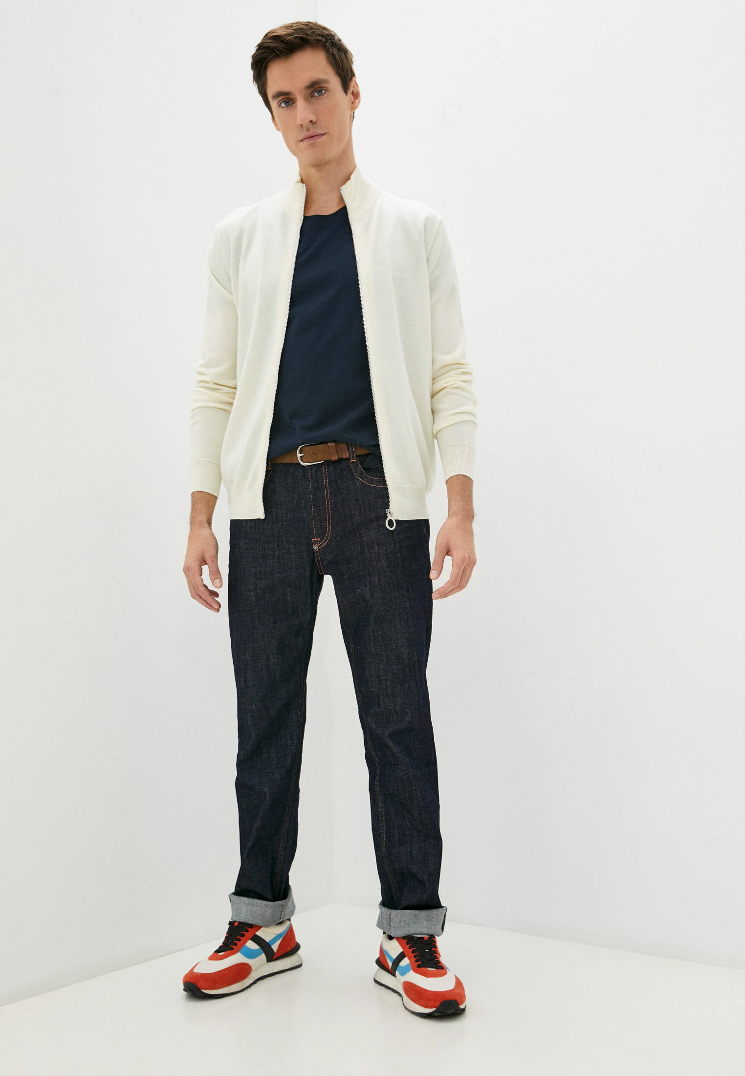 Мужские прямые джинсы Bikkembergs (Биккембергс) C Q 102 03 S 3393: изображение 18
