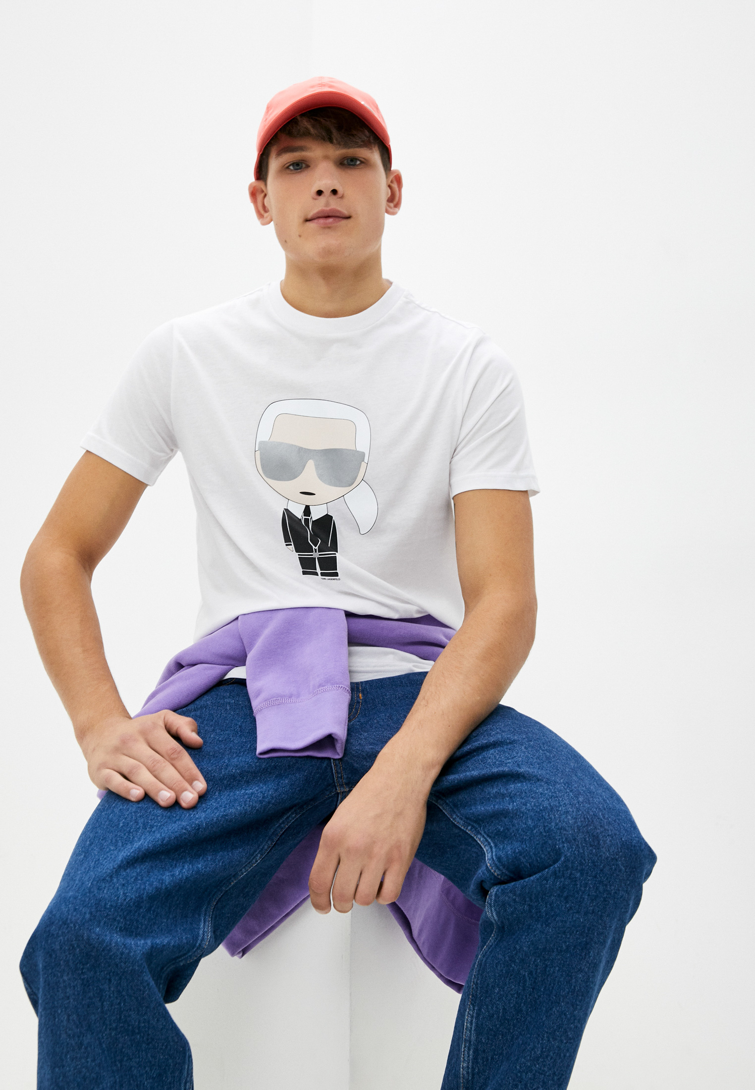 Мужская футболка Karl Lagerfeld (Карл Лагерфельд) 512251-755061