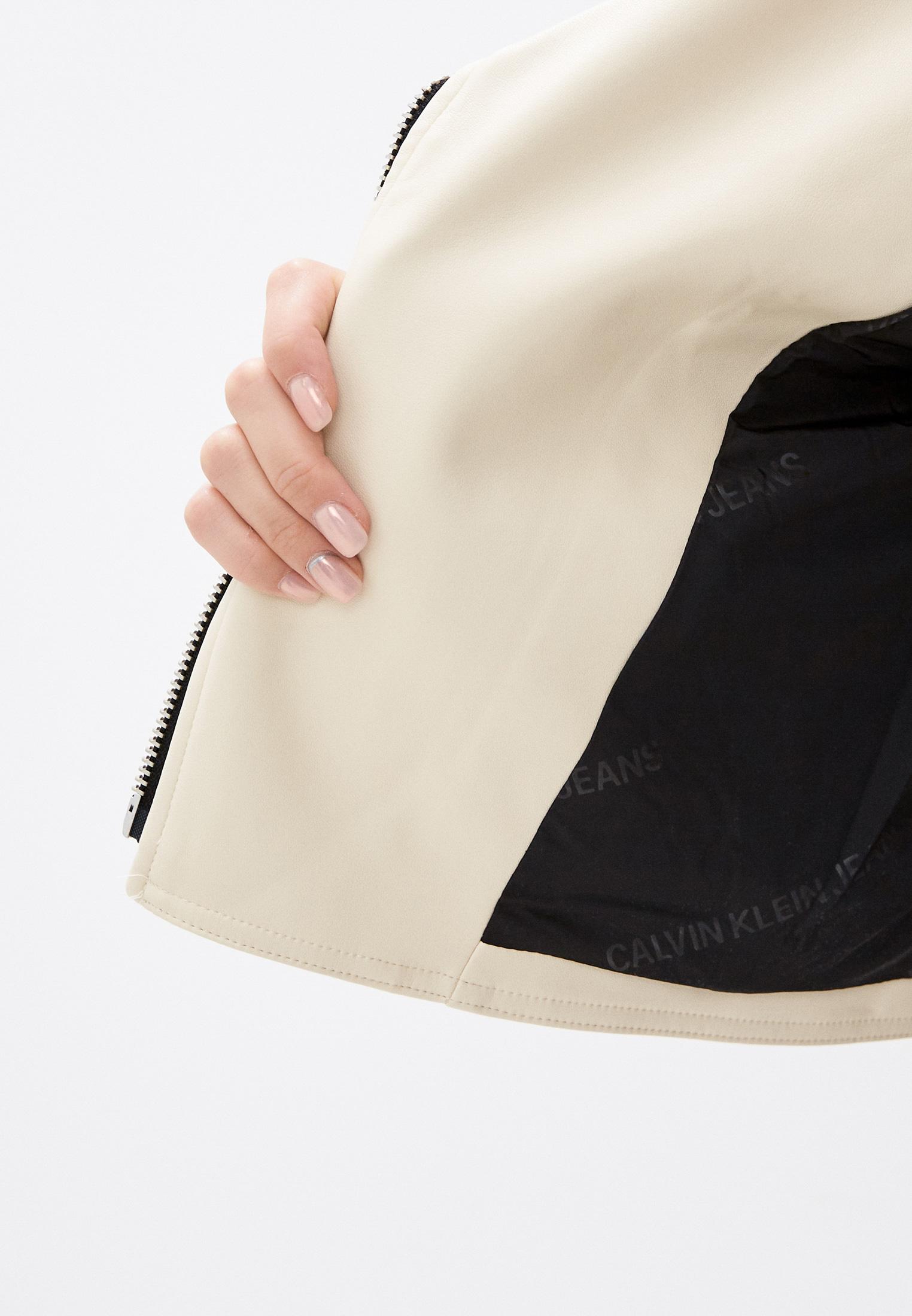 Кожаная куртка Calvin Klein Jeans J20J216264: изображение 4
