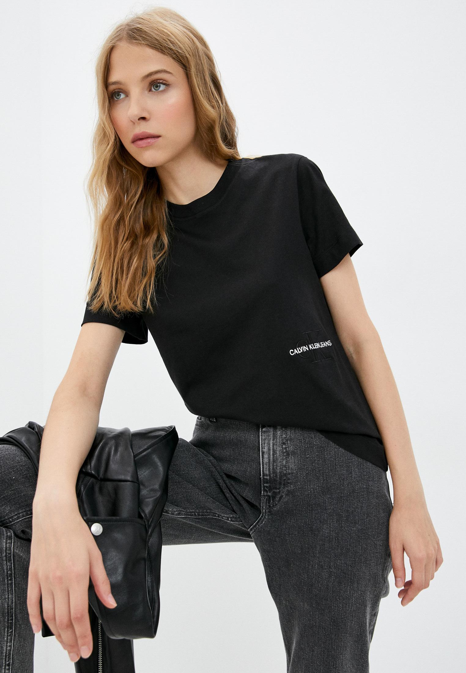 Футболка с коротким рукавом Calvin Klein Jeans Футболка Calvin Klein Jeans