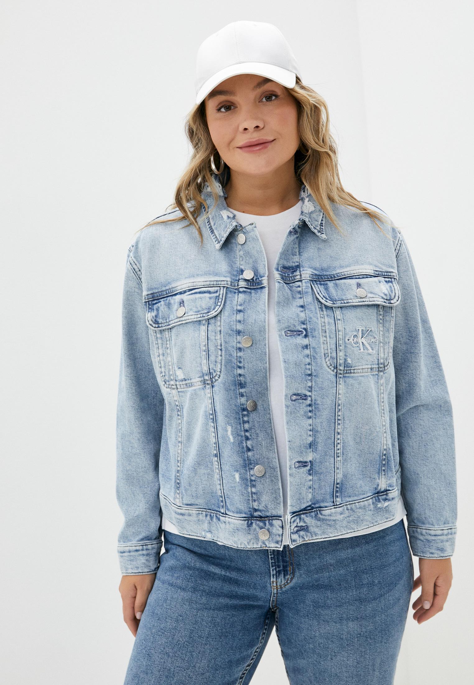 Джинсовая куртка Calvin Klein Jeans J20J217157: изображение 1