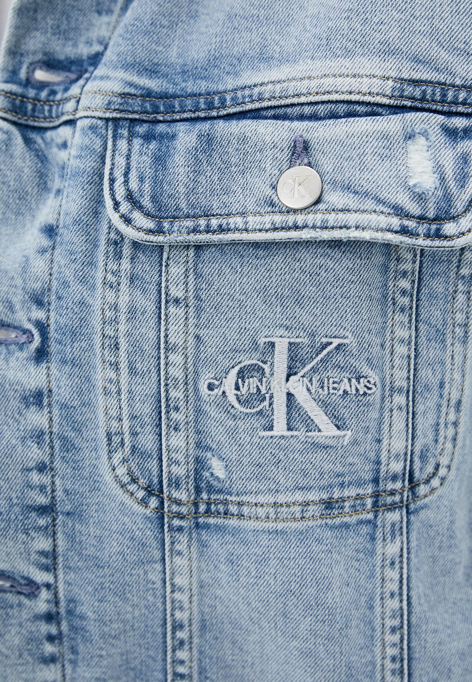 Джинсовая куртка Calvin Klein Jeans J20J217157: изображение 4