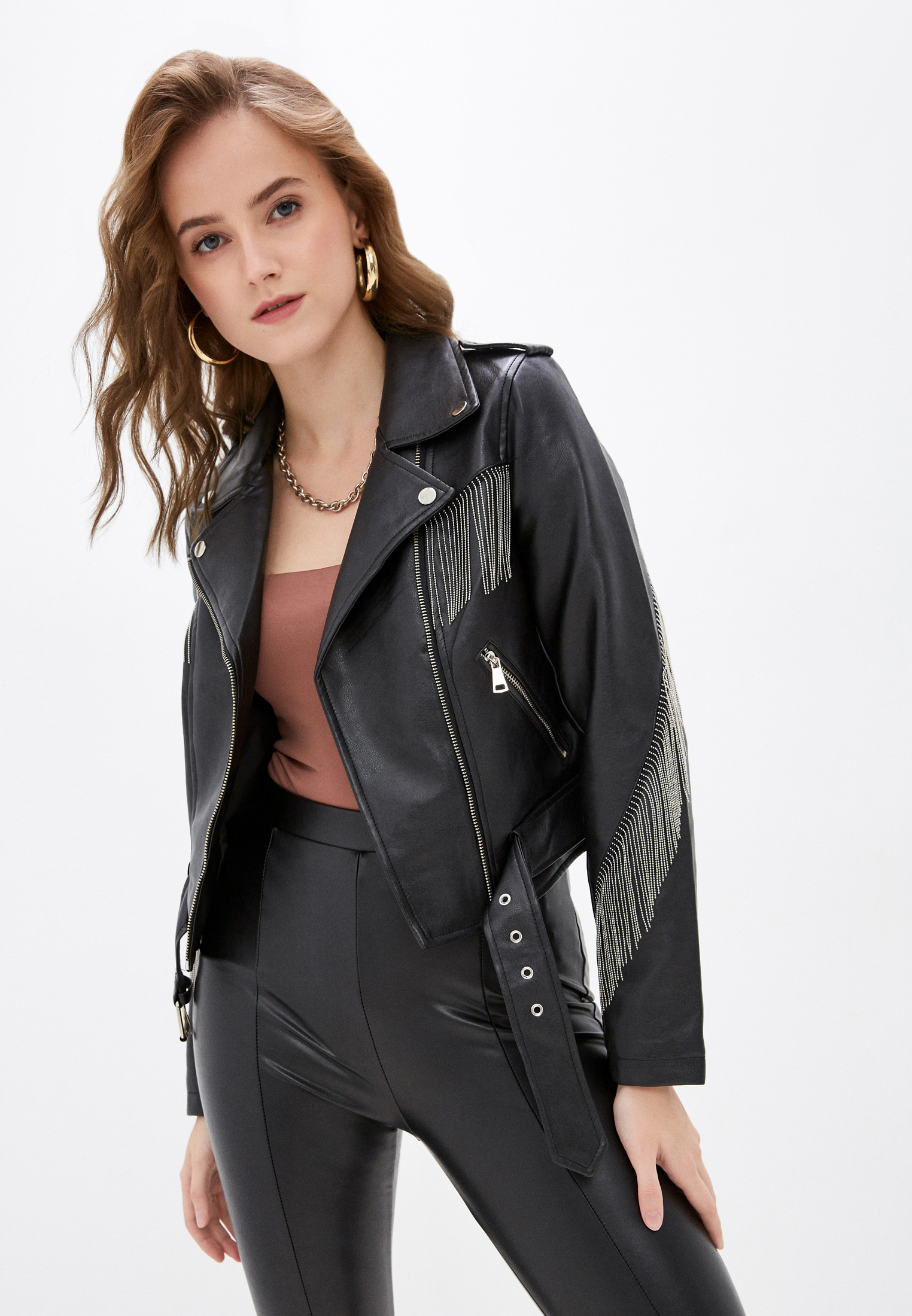Кожаная куртка Softy S20561