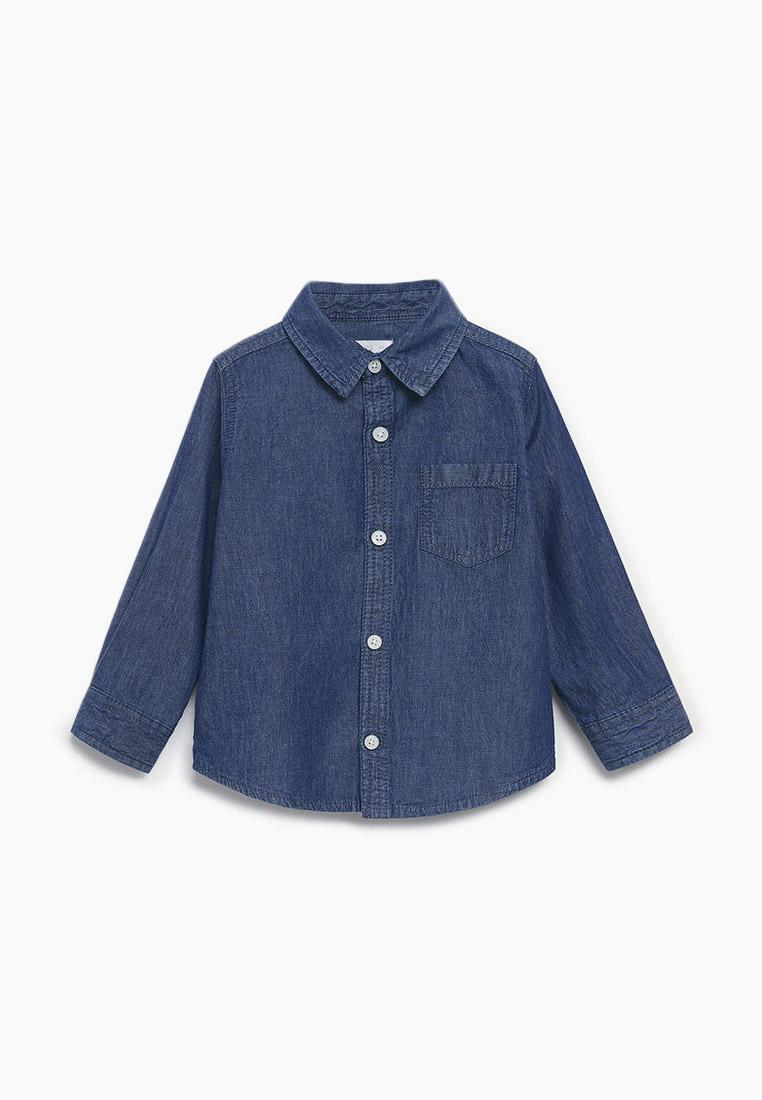 Рубашка Mango Kids (Манго Кидс) Рубашка джинсовая Mango Kids