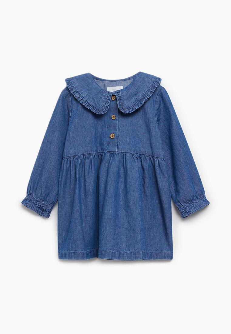 Повседневное платье Mango Kids (Манго Кидс) Платье джинсовое Mango Kids