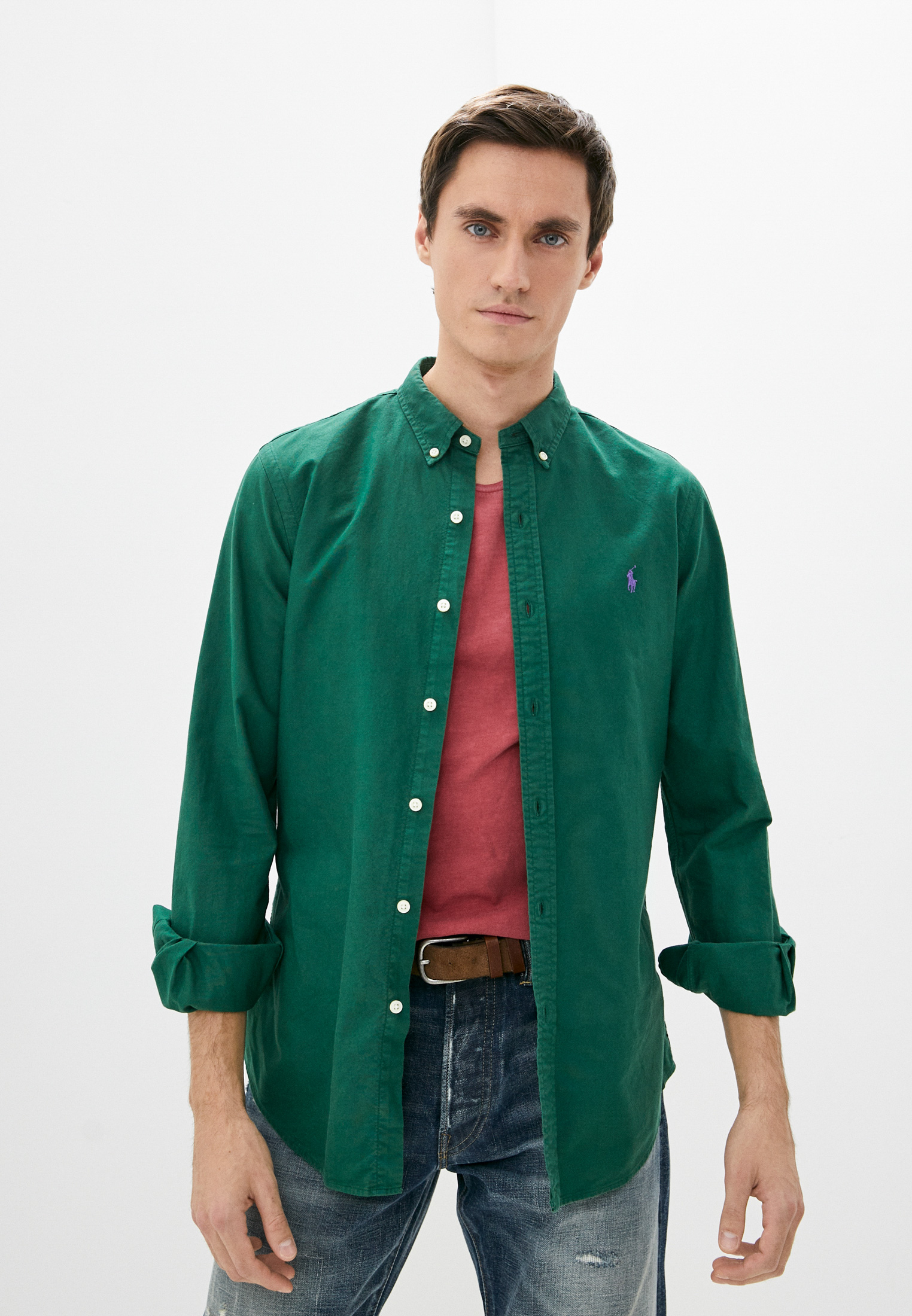 Рубашка с длинным рукавом Polo Ralph Lauren (Поло Ральф Лорен) Рубашка Polo Ralph Lauren